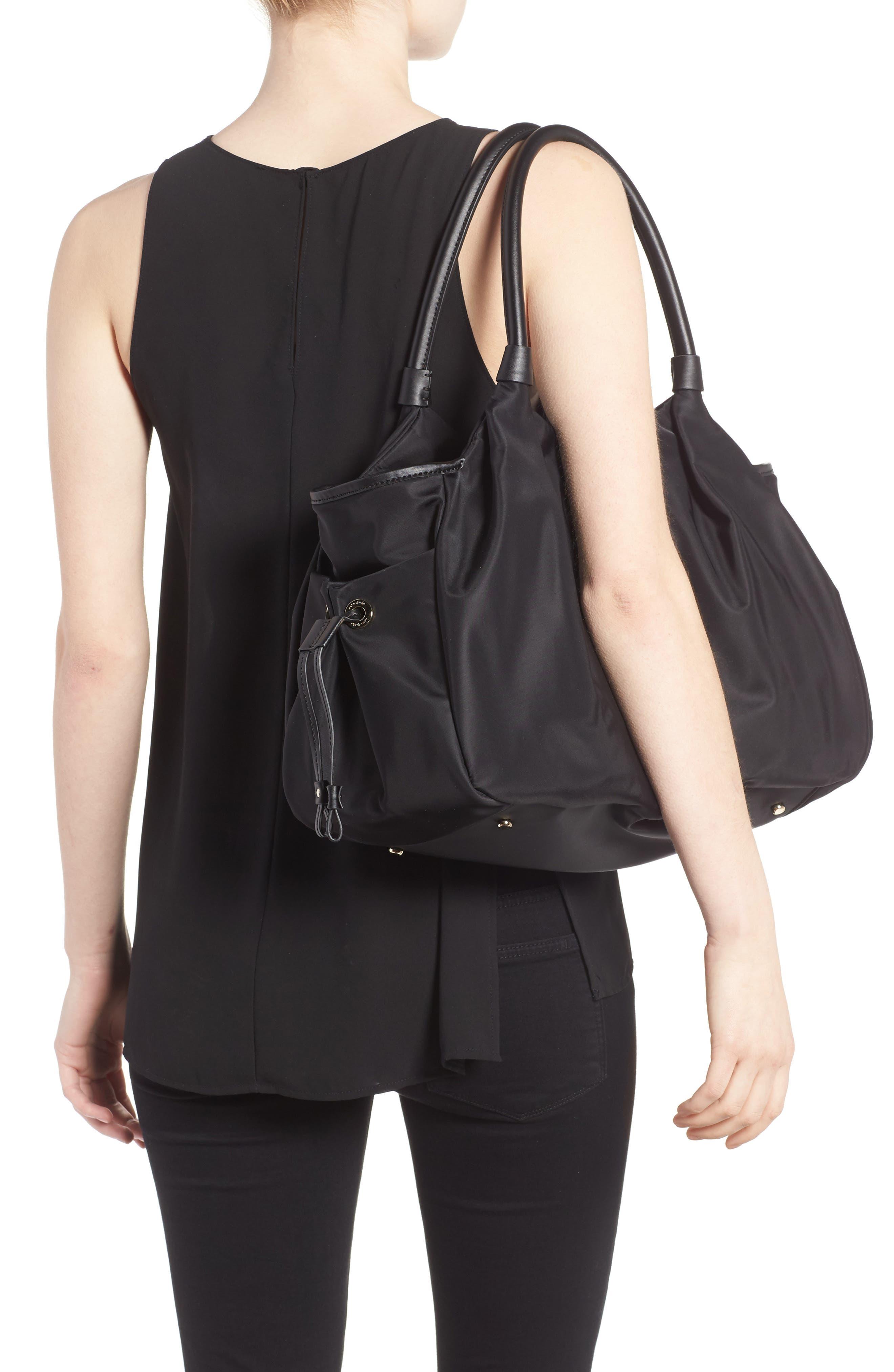 watson lane - stevie diaper bag,                             Alternate thumbnail 2, color,                             BLACK