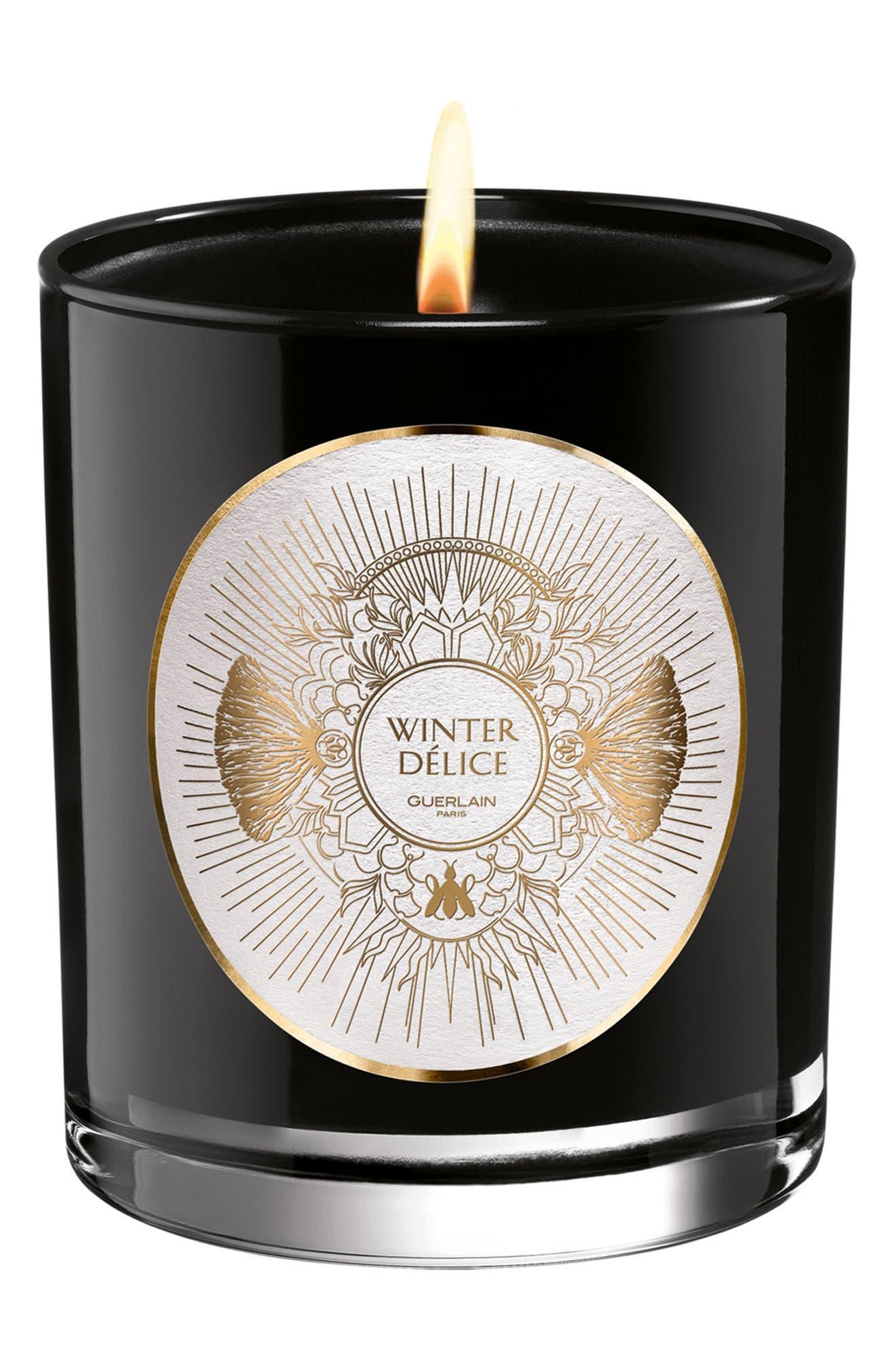 Winter Délice Candle,                             Main thumbnail 1, color,                             NO COLOR