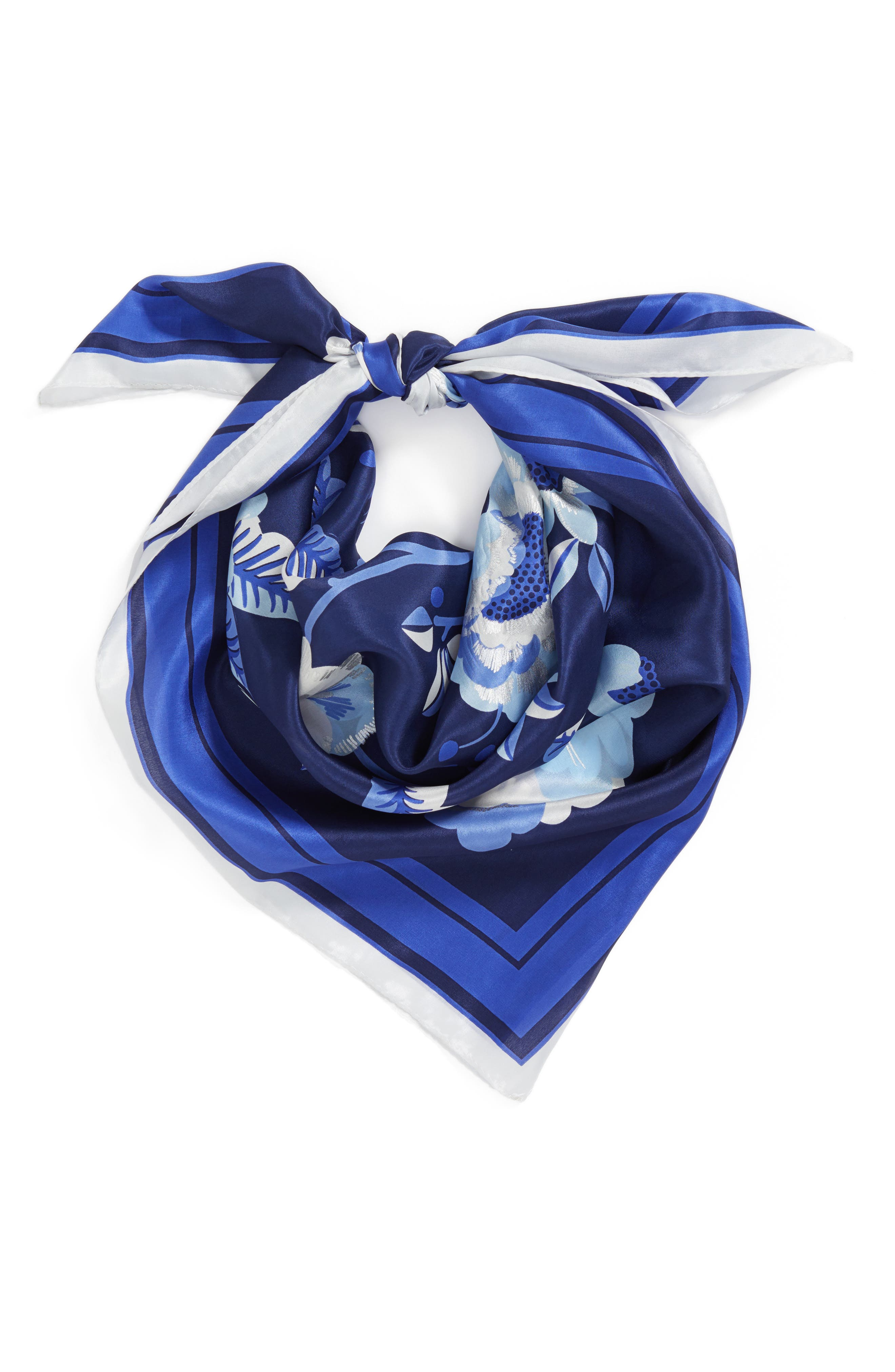 Bloomsbury Square Silk Scarf,                             Alternate thumbnail 2, color,                             411