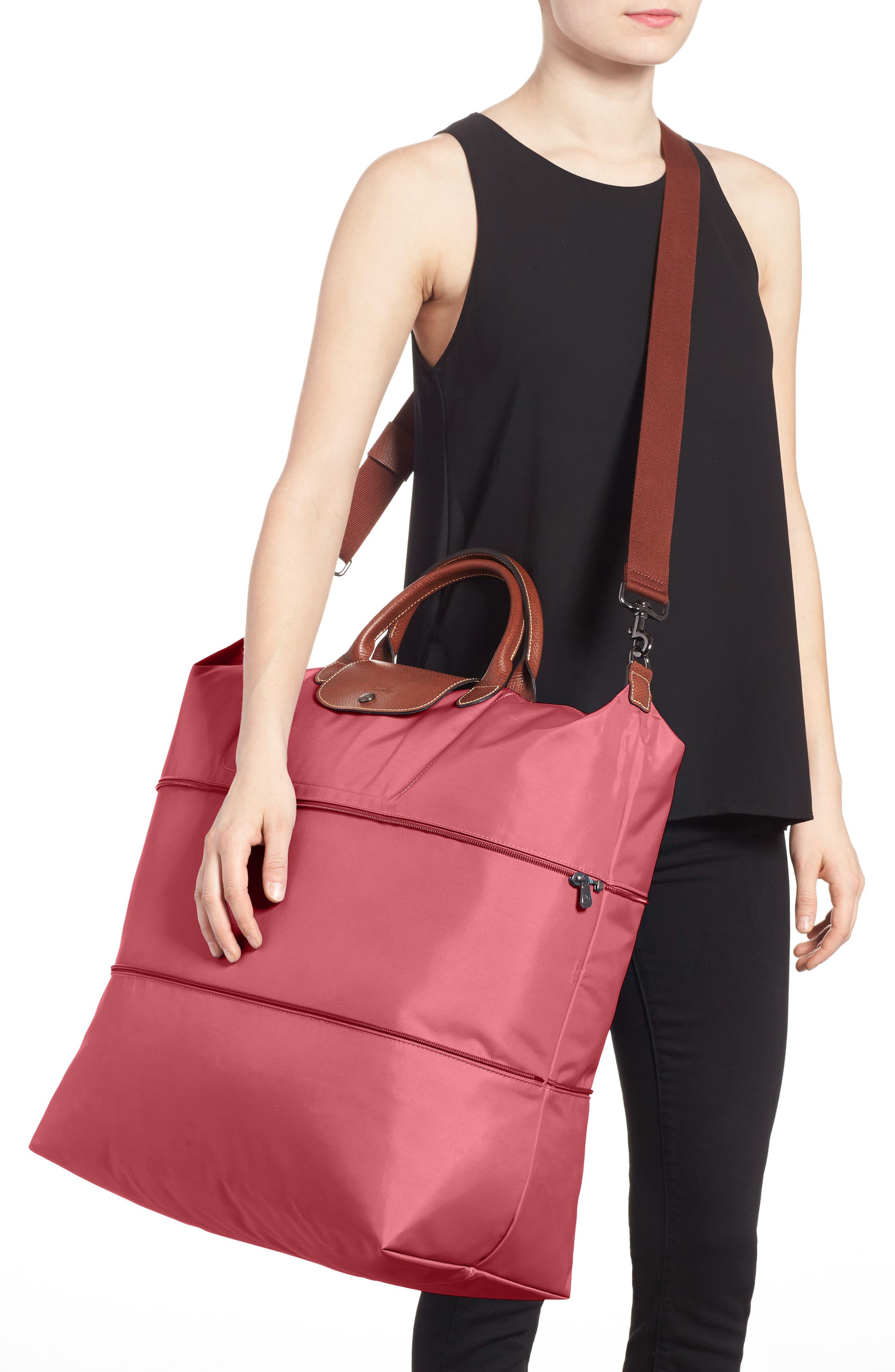 Le Pliage 21-Inch Expandable Travel Bag,                             Alternate thumbnail 2, color,                             FIG
