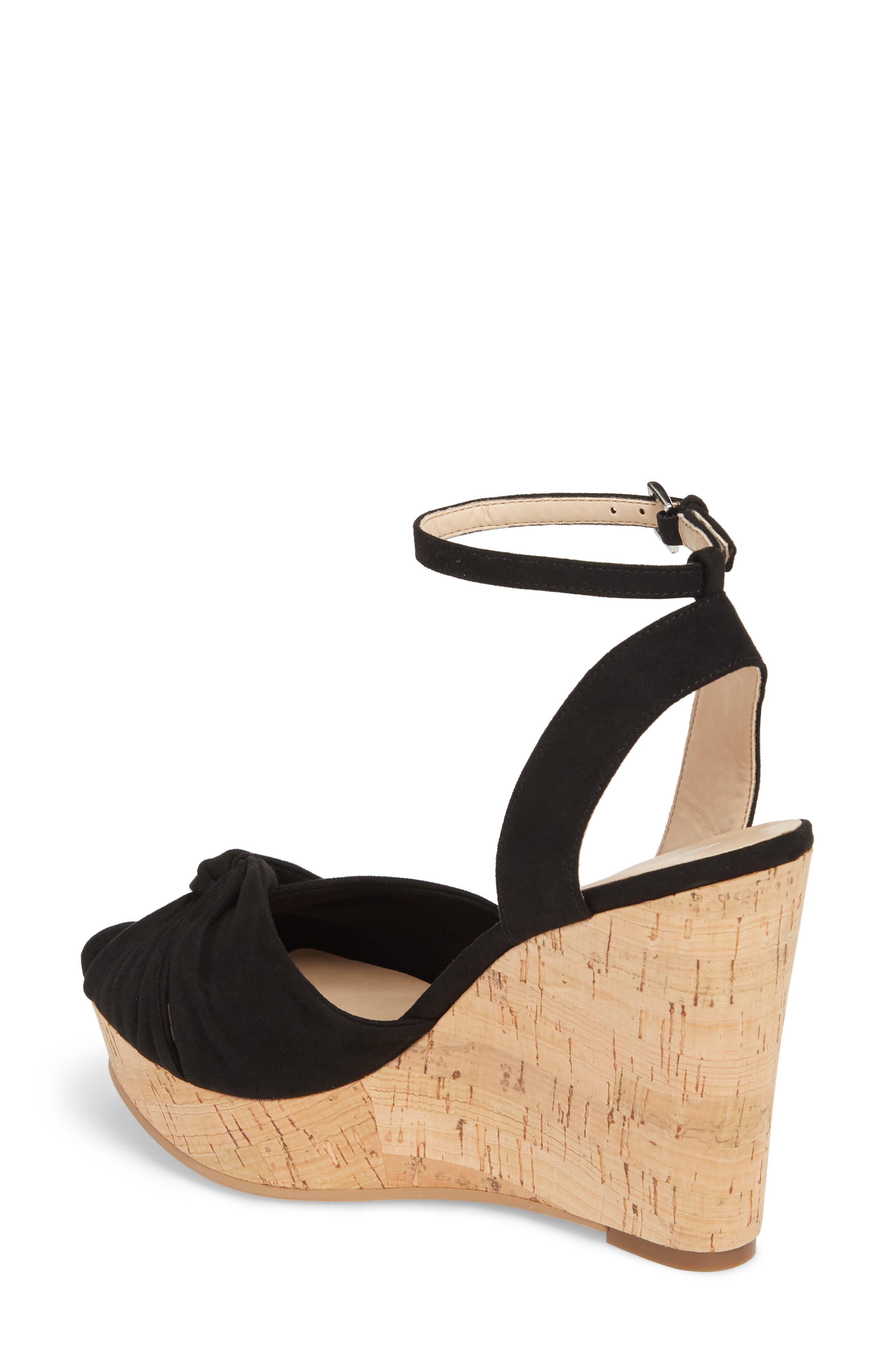 Arya Platform Wedge Sandal,                             Alternate thumbnail 8, color,