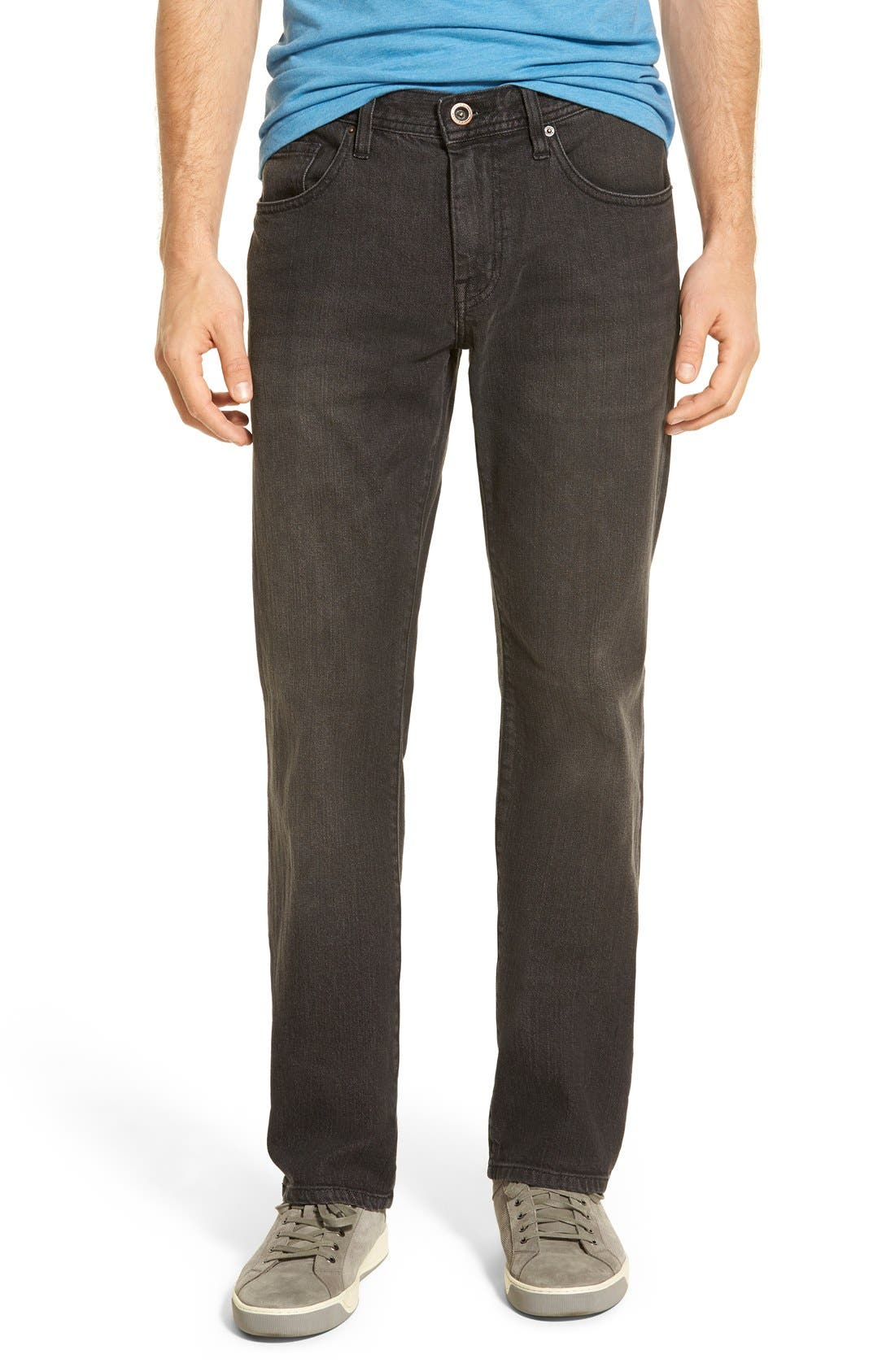 'Duke' Relaxed Fit Jeans,                             Main thumbnail 1, color,                             002