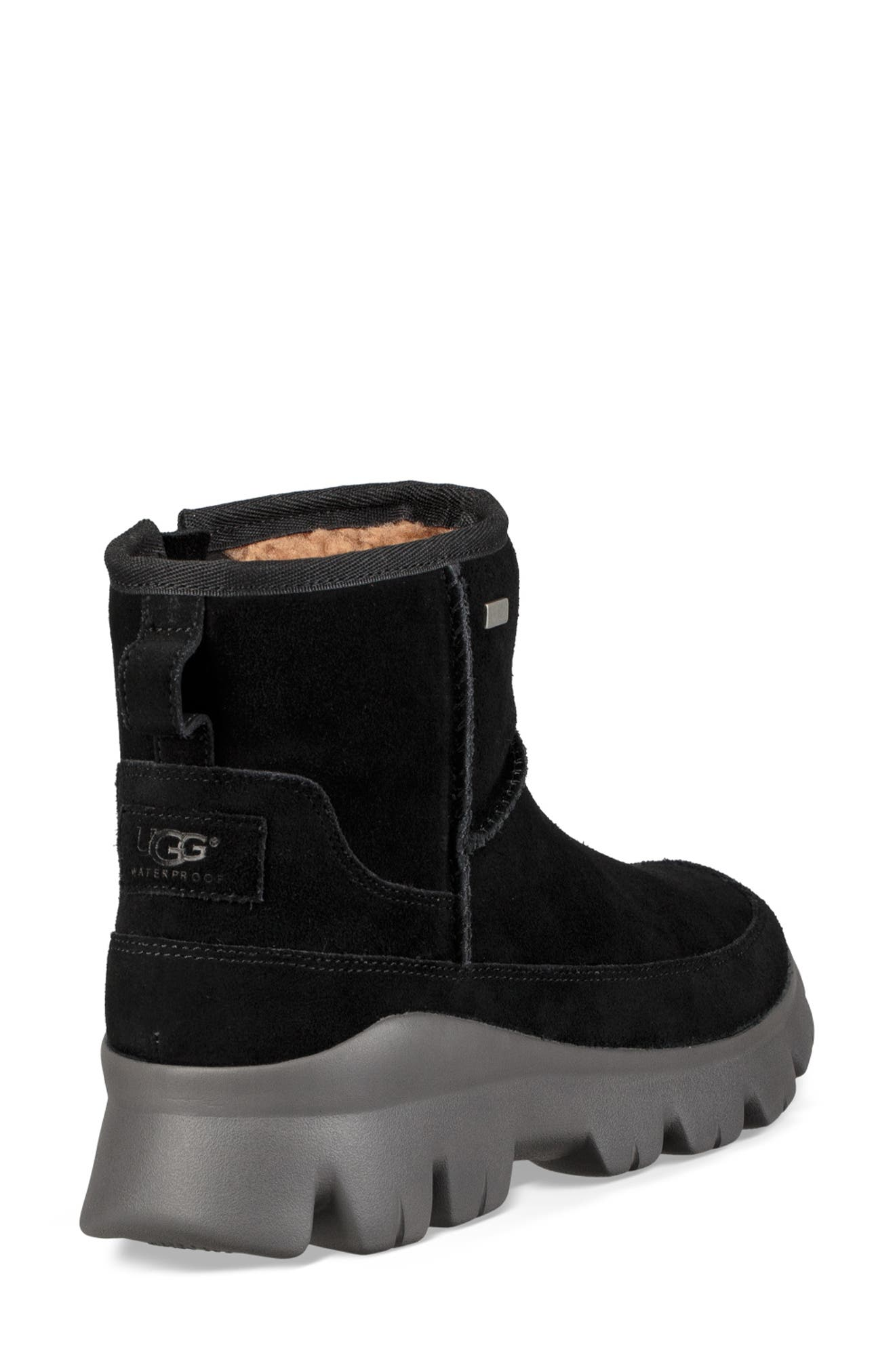 Palomar Waterproof Sneaker Bootie,                             Alternate thumbnail 2, color,                             BLACK/ CHARCOAL SUEDE