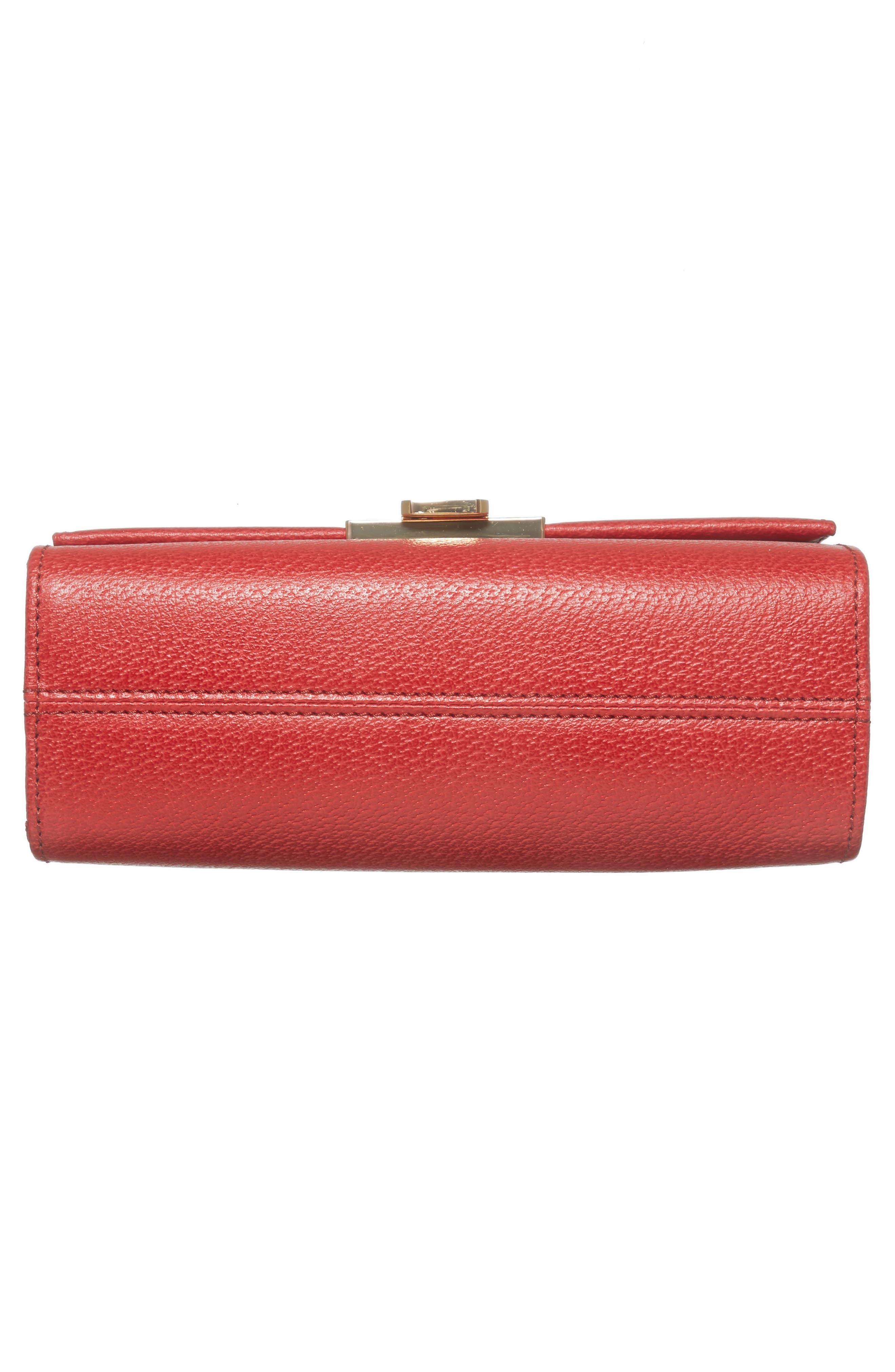LODIS Stephanie Under Lock & Key - Small Eden Leather Crossbody Bag,                             Alternate thumbnail 6, color,                             600