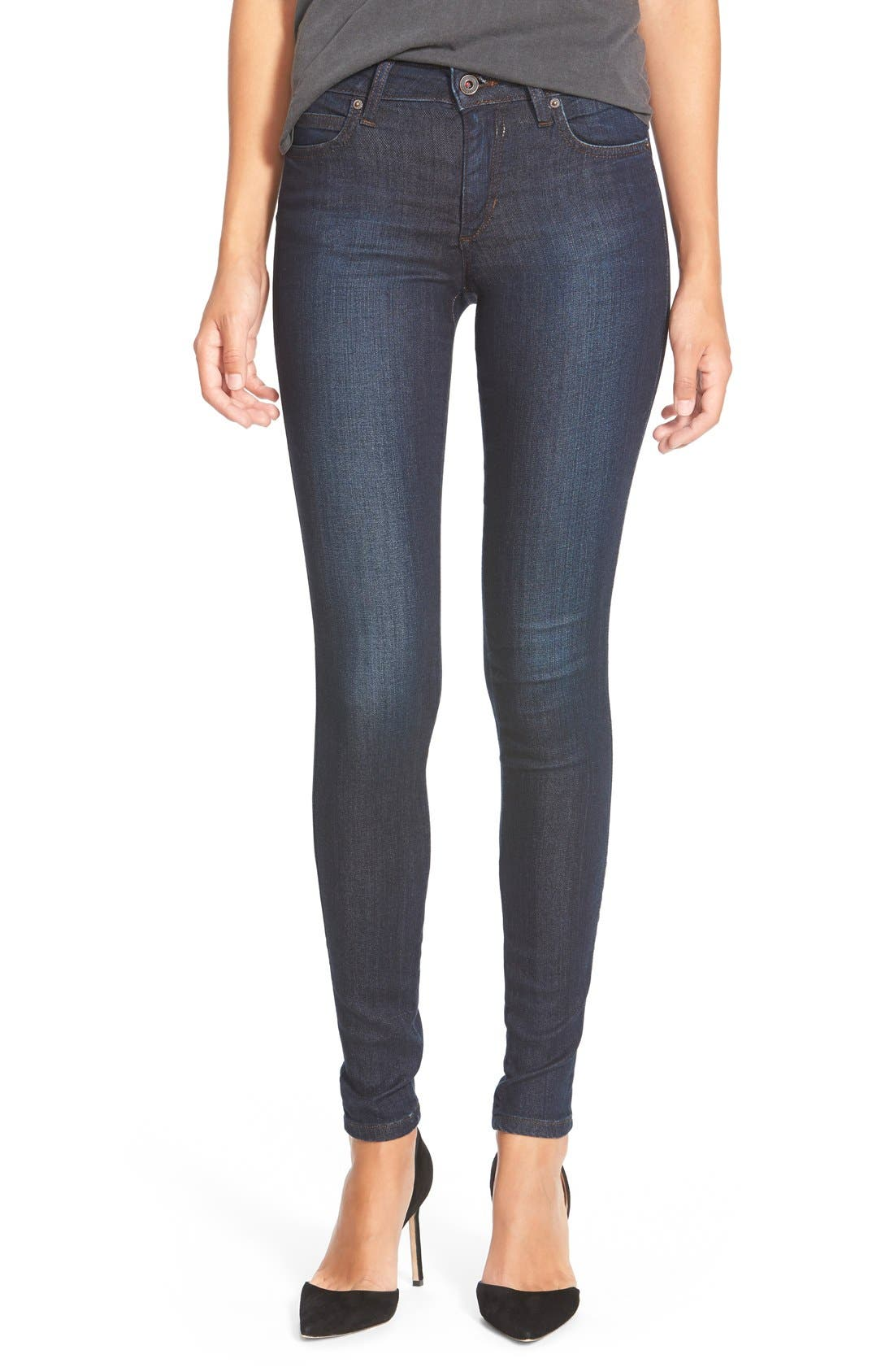 'Honey' Skinny Jeans, Main, color, 410