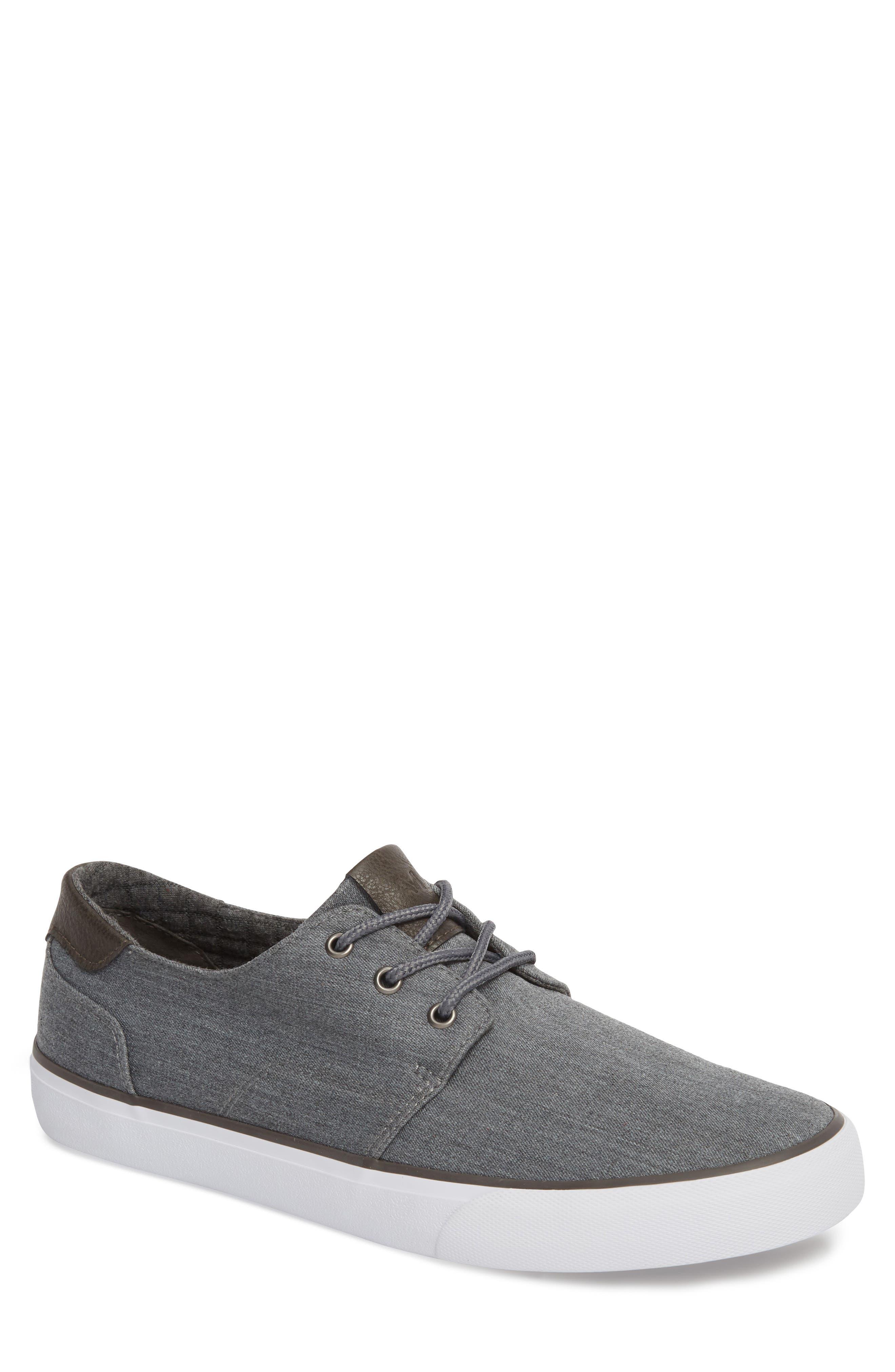 Briggs Low Top Sneaker,                         Main,                         color, CHARCOAL/ DARK GREY/ WHITE