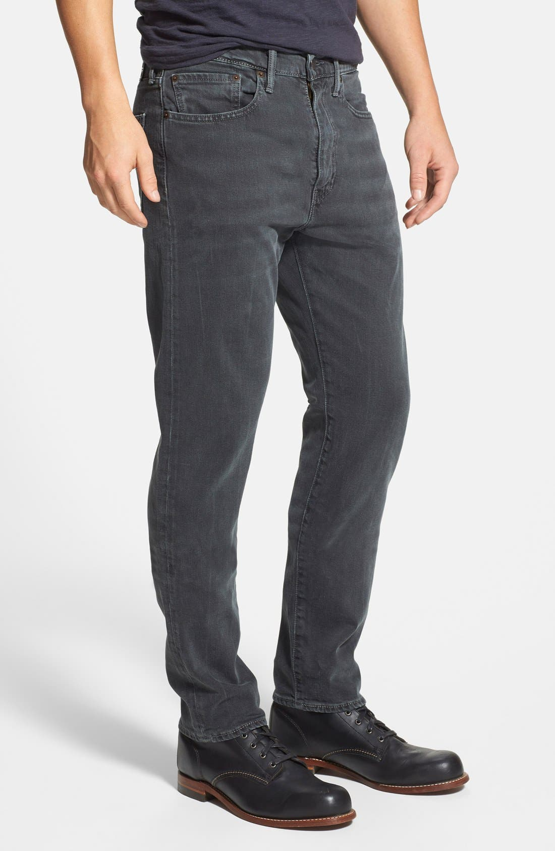 LEVI'S<SUP>®</SUP>,                             '522<sup>™</sup>' Slim Tapered Fit Jeans,                             Alternate thumbnail 4, color,                             060