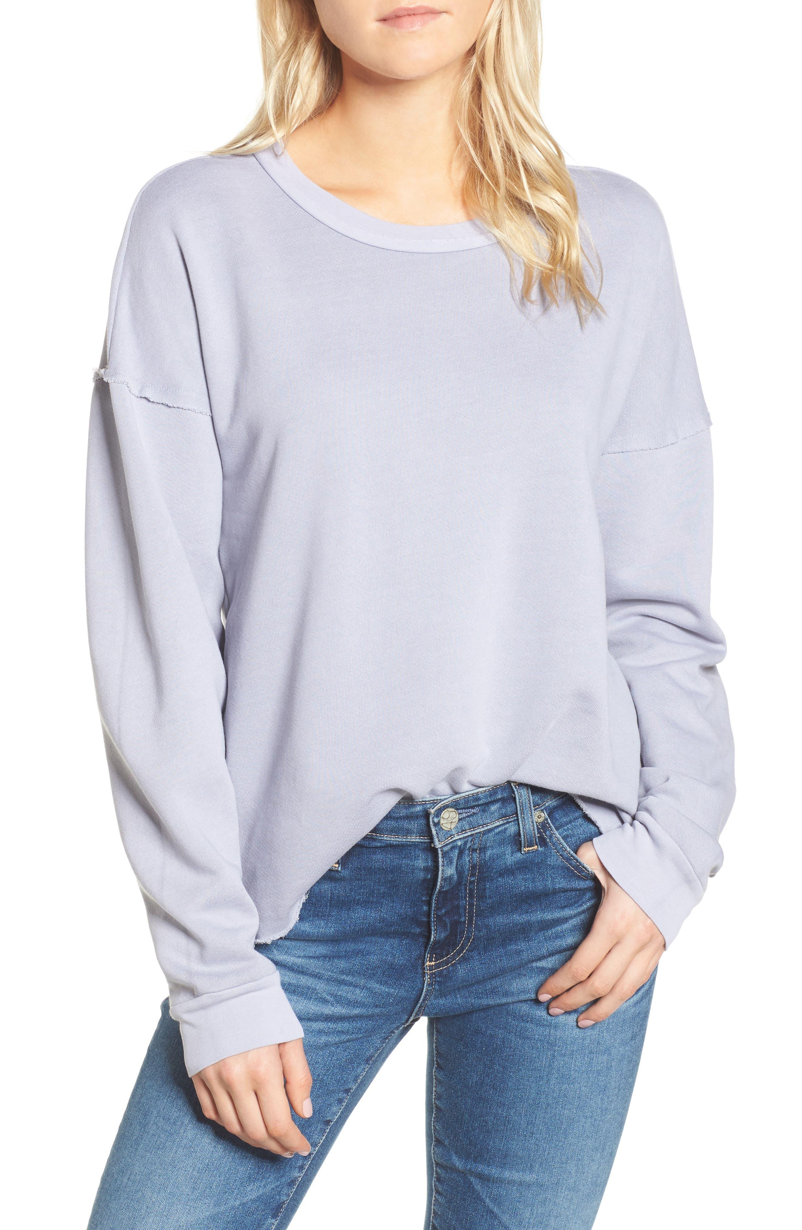 Crew Sweatshirt,                         Main,                         color, 090