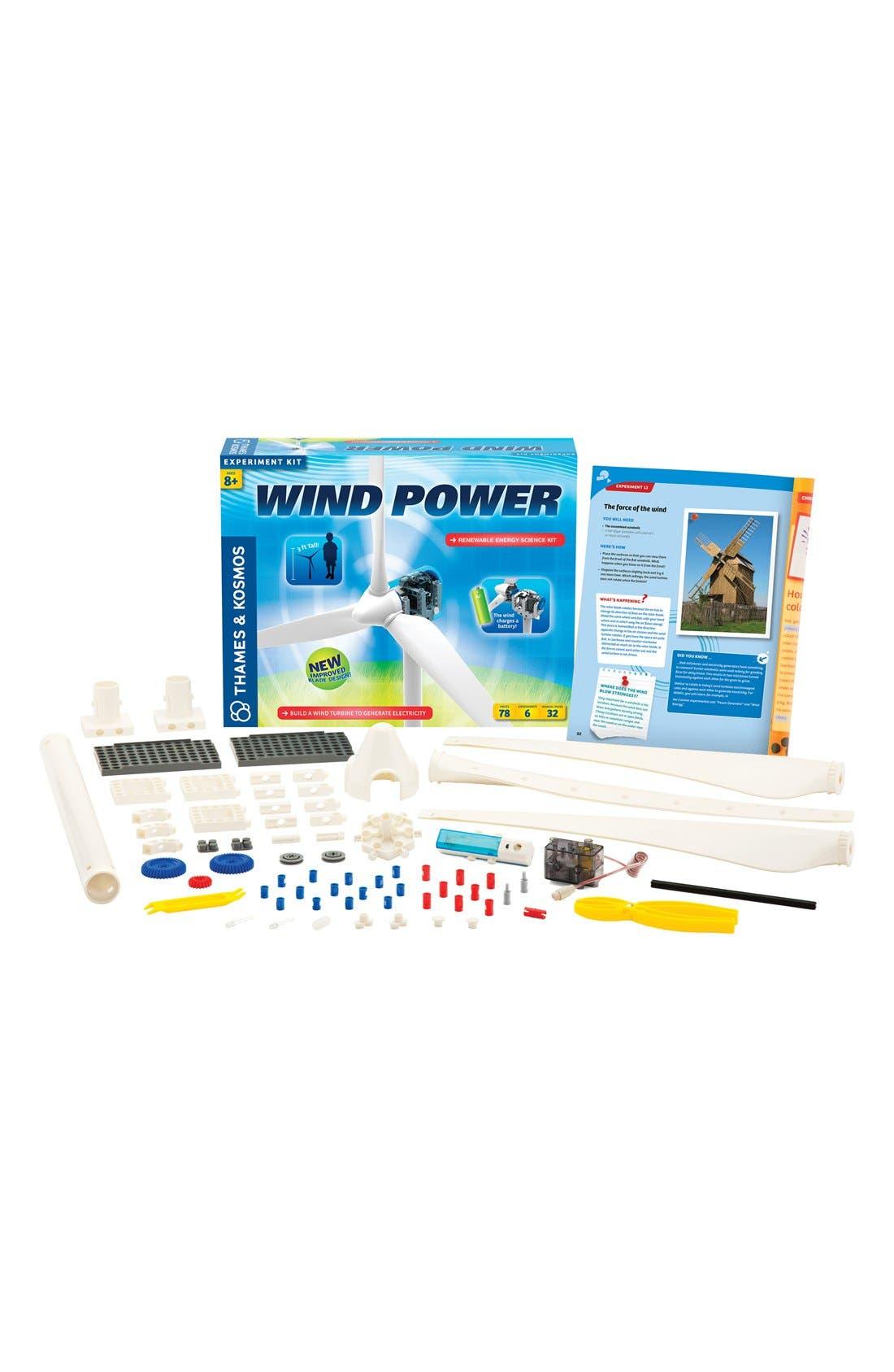 'Wind Power V3.0' Experiment Kit,                             Alternate thumbnail 3, color,                             BLUE