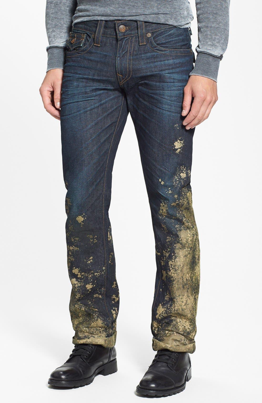 'Ricky' Relaxed Straight Leg Jeans,                             Alternate thumbnail 2, color,                             400