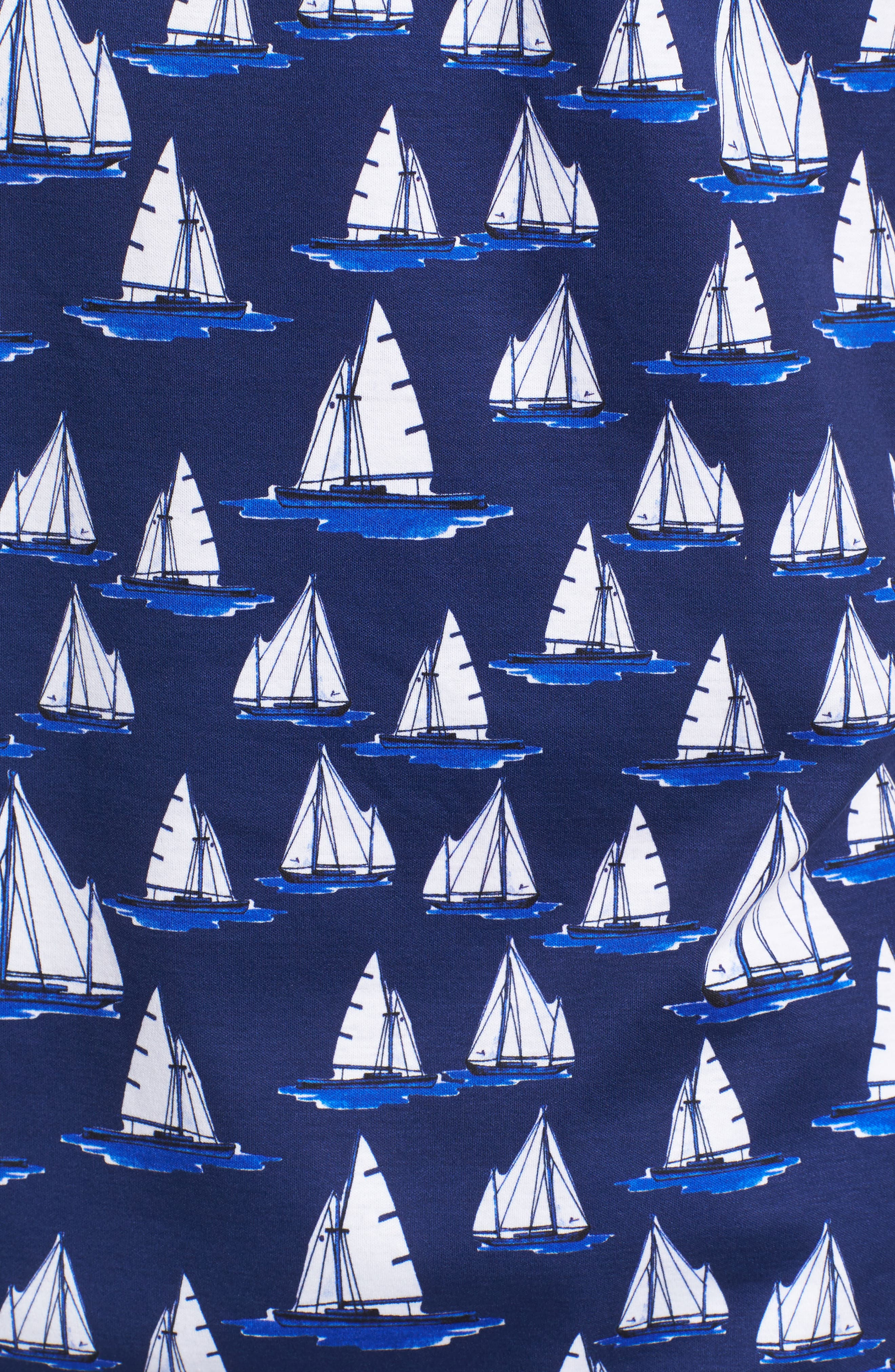 Sailboat Knit Polo,                             Alternate thumbnail 5, color,                             411