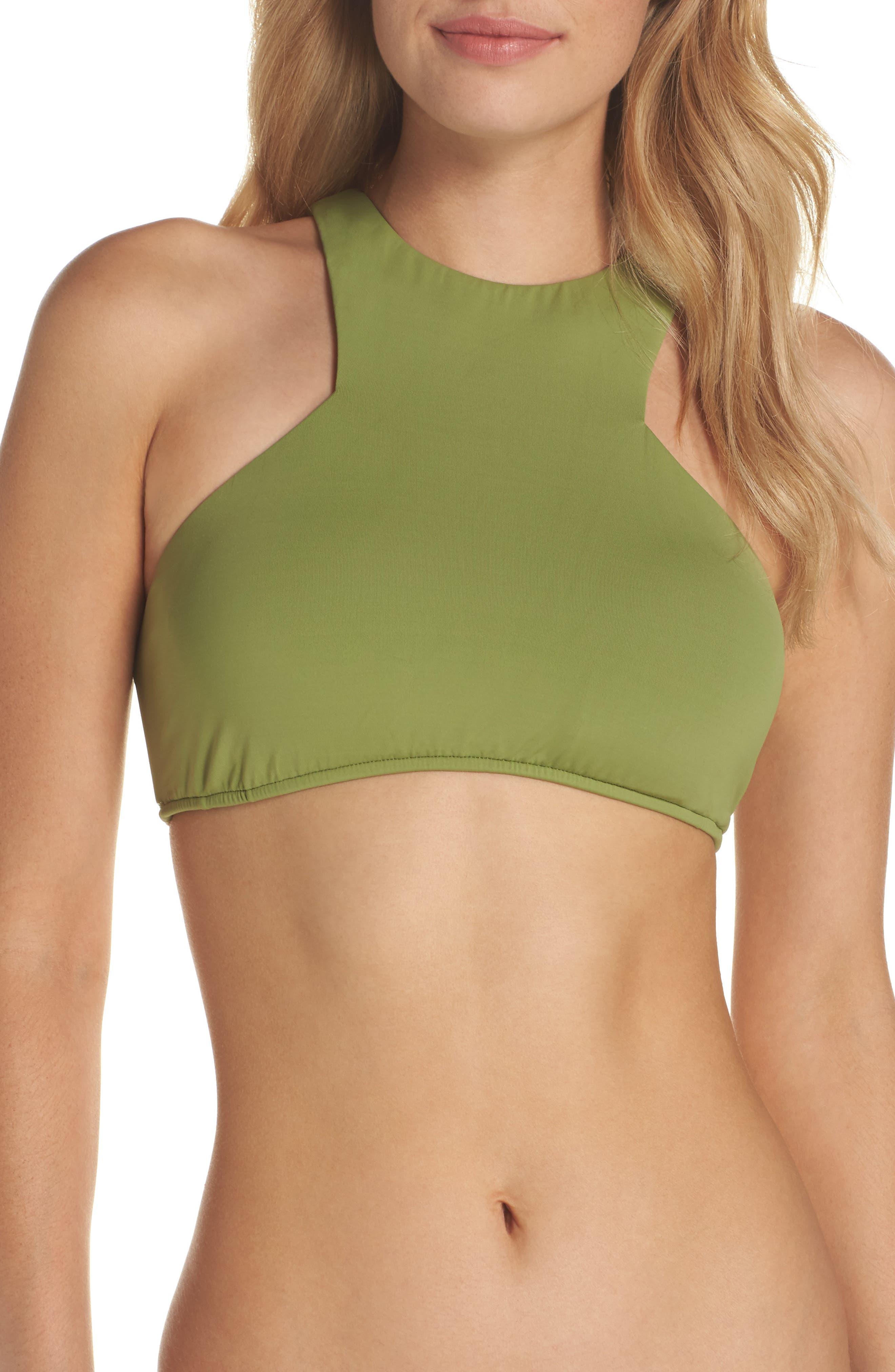 High Neck Bikini Top,                             Main thumbnail 1, color,