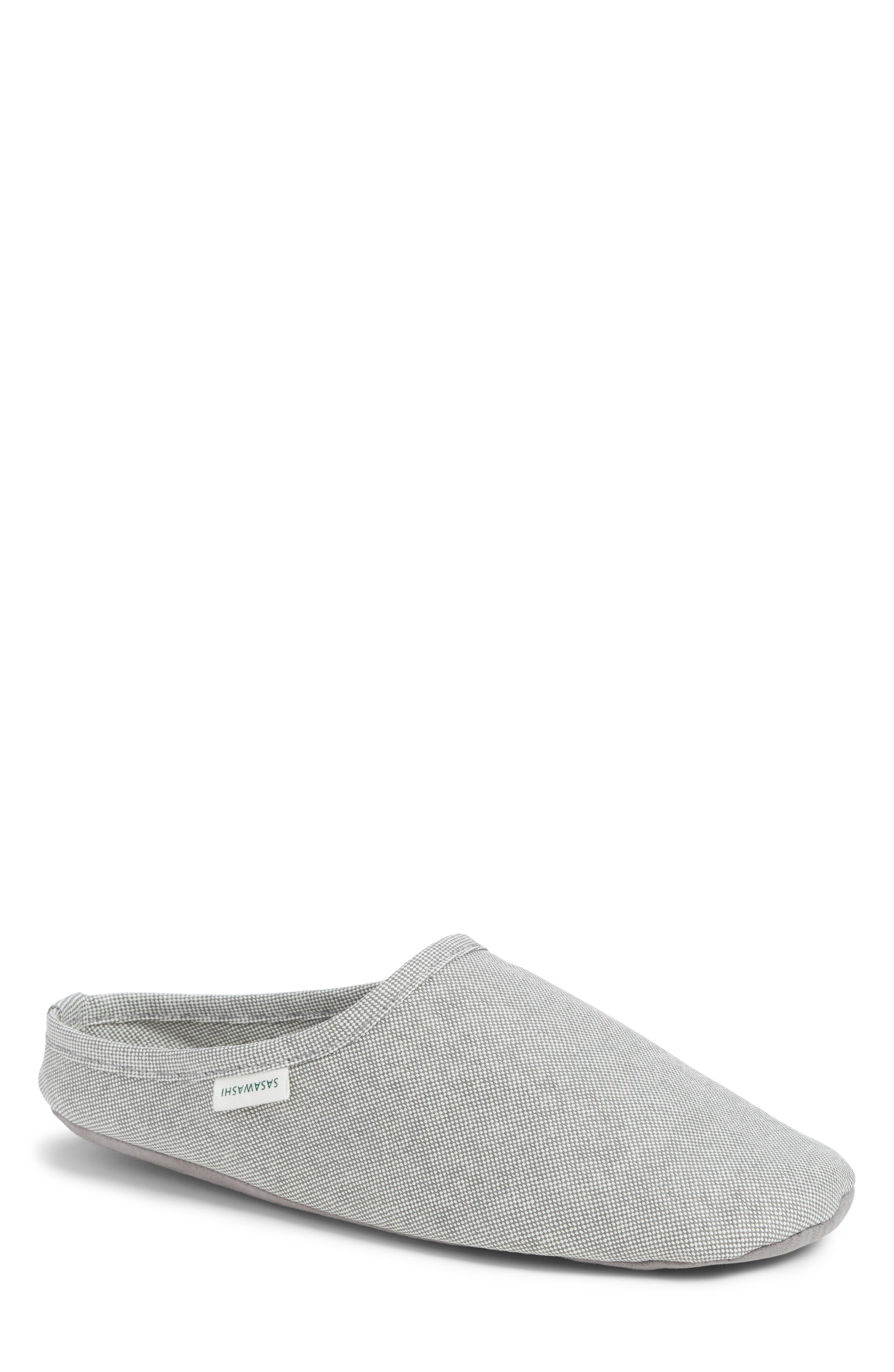 MORIHATA Sasawashi Room Shoe in Grey