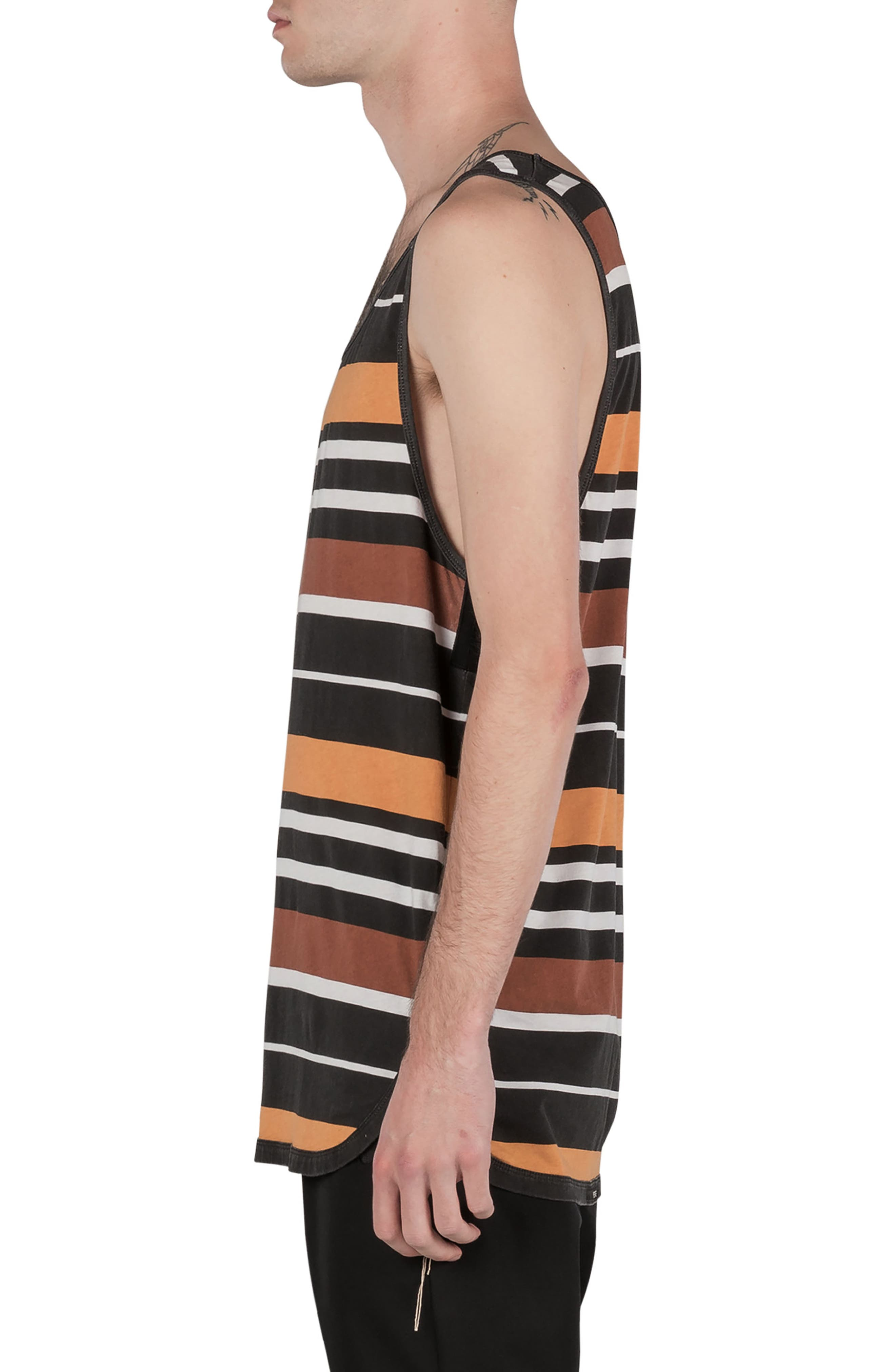 Rugby Stripe Rugger Tank,                             Alternate thumbnail 3, color,