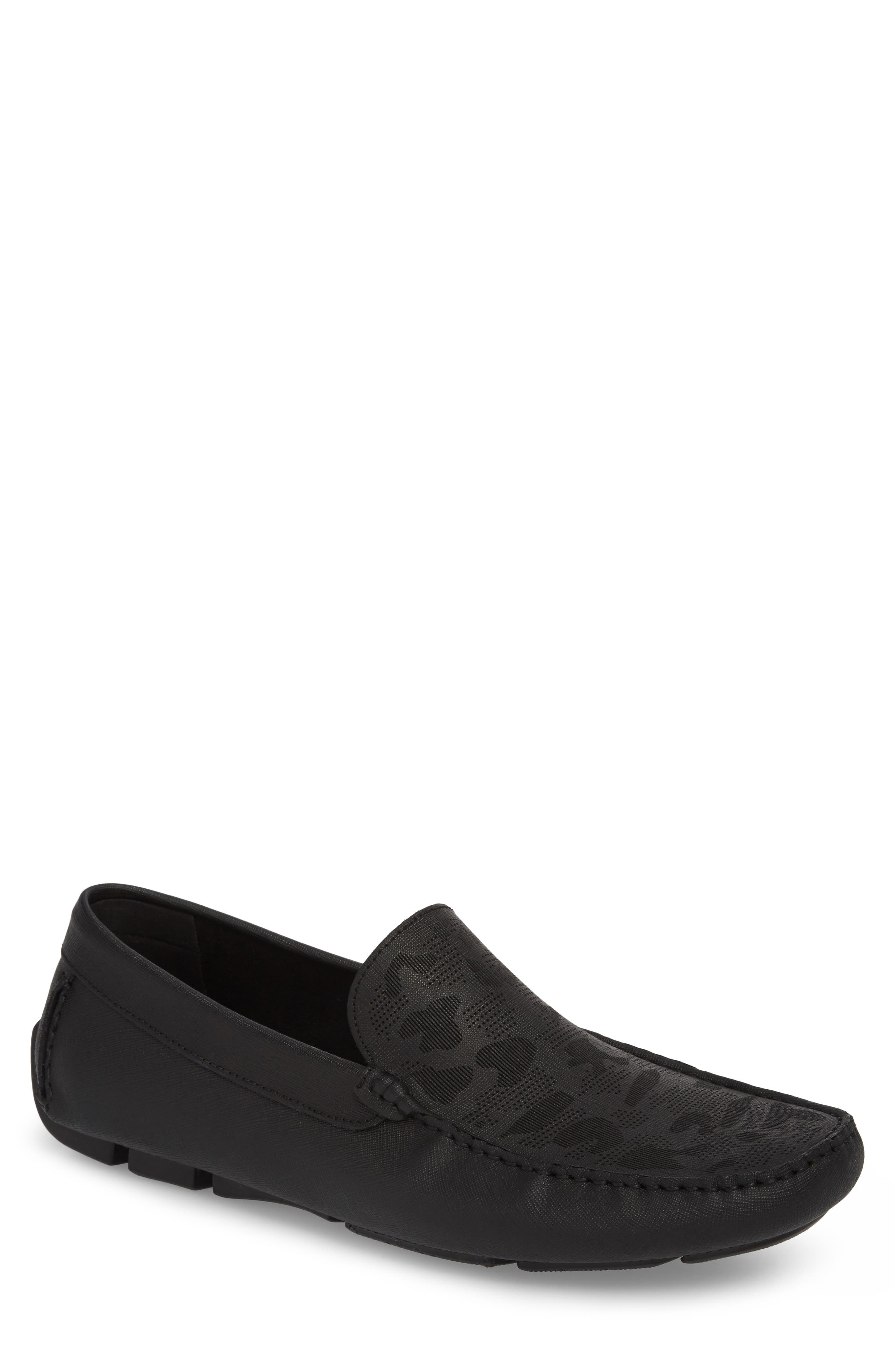 KENNETH COLE NEW YORK Theme Song Driving Shoe, Main, color, 001