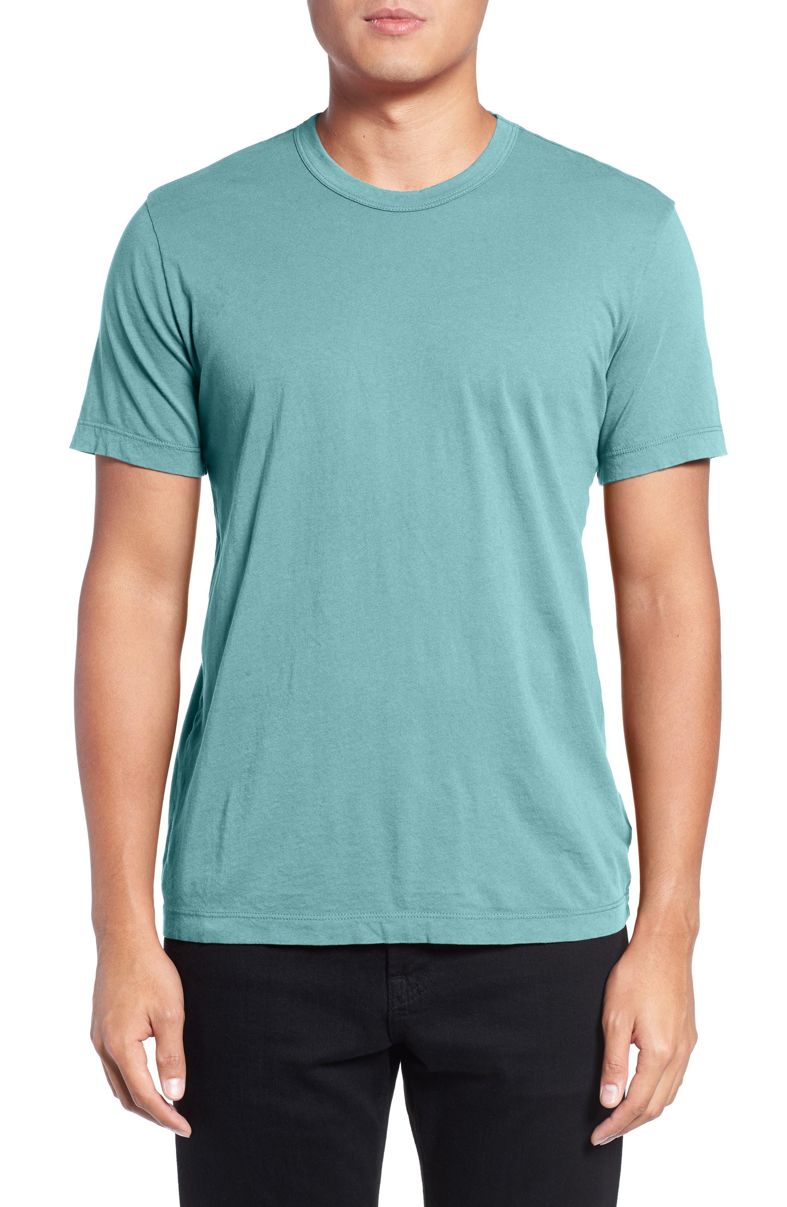 Crewneck Jersey T-Shirt,                             Alternate thumbnail 174, color,