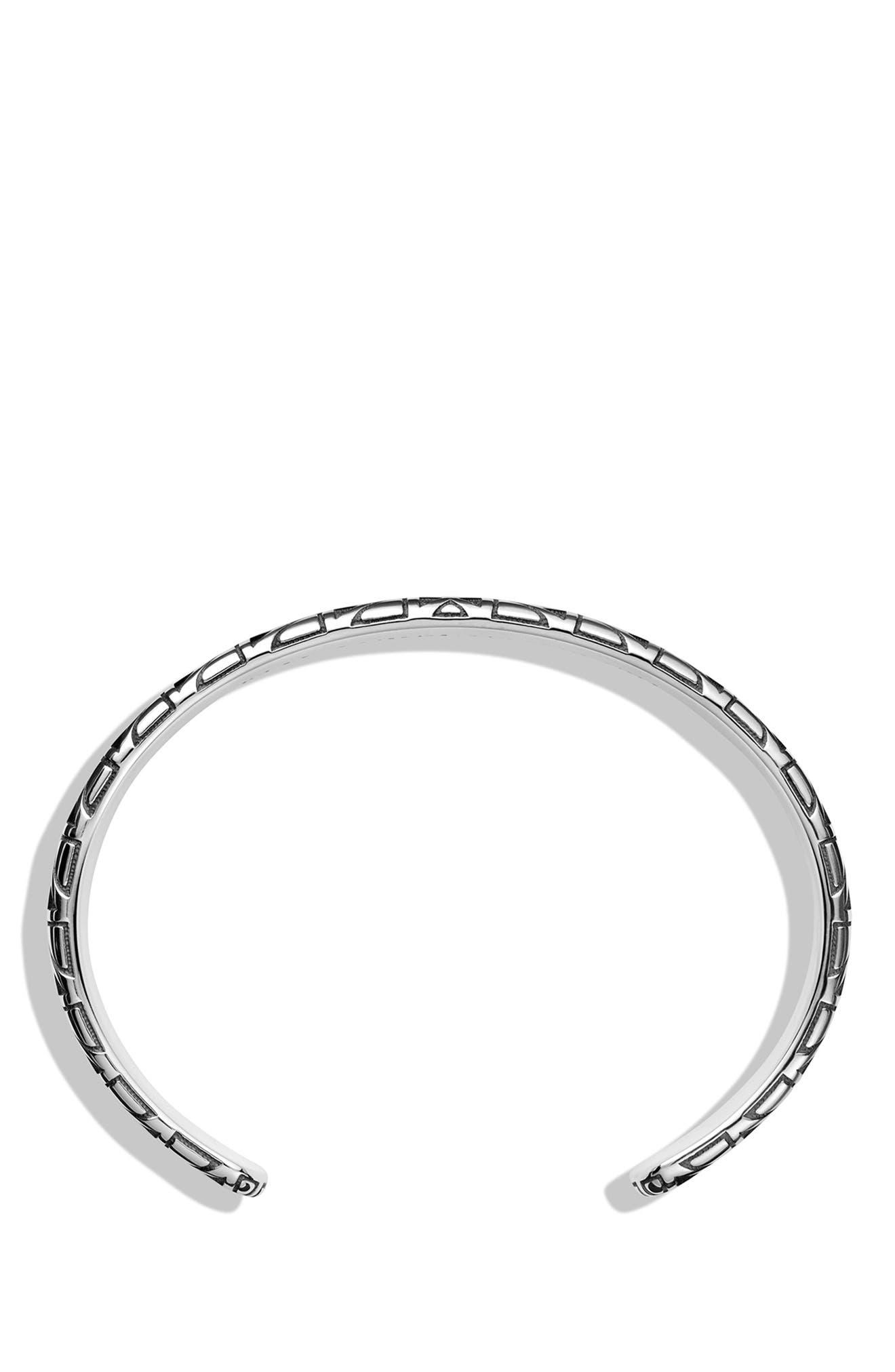 DAVID YURMAN,                             Southwest Cuff Bracelet with 18K Gold,                             Alternate thumbnail 3, color,                             040