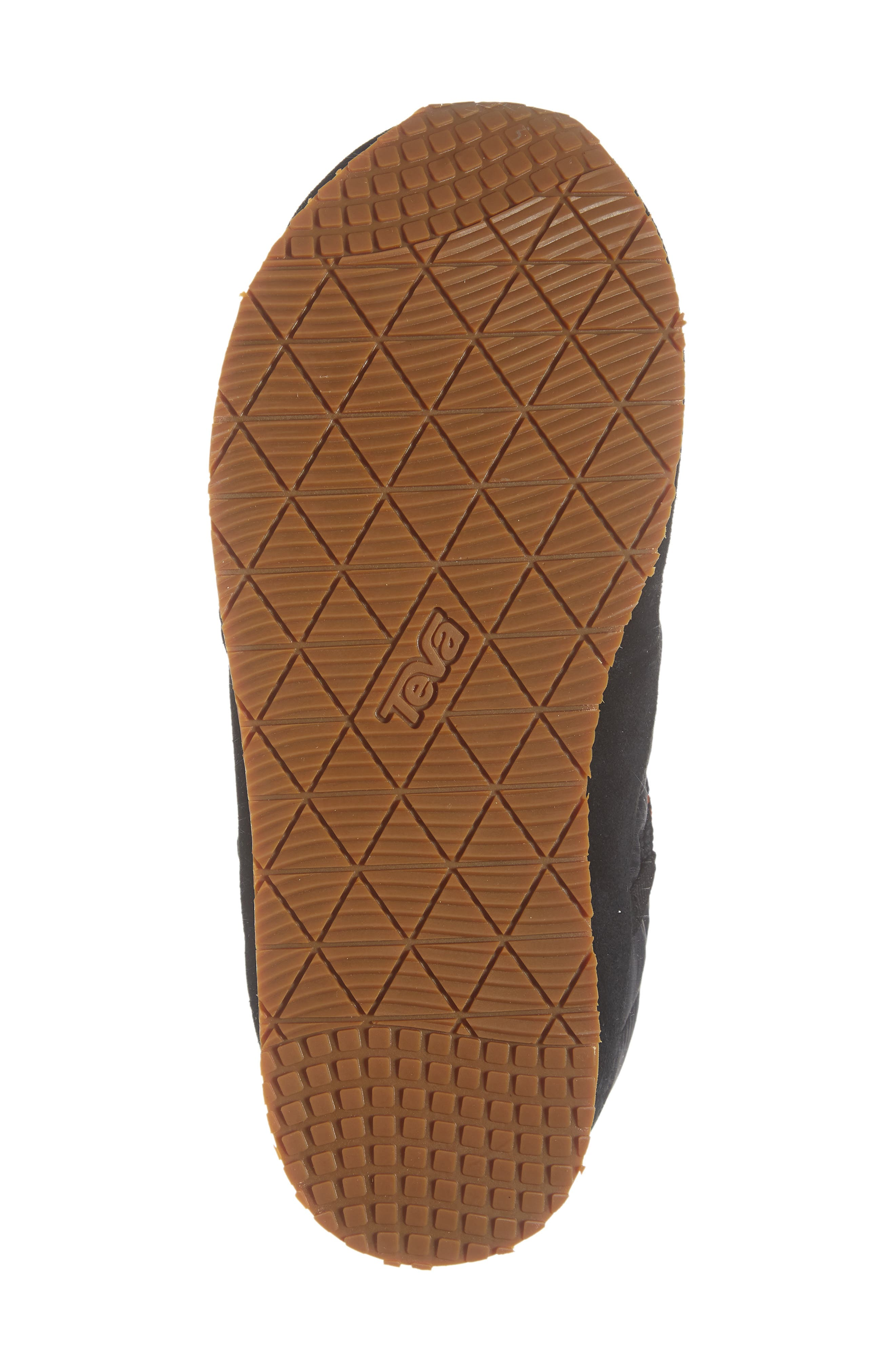 TEVA,                             Ember Lace-Up Winter Bootie,                             Alternate thumbnail 6, color,                             BLACK FABRIC
