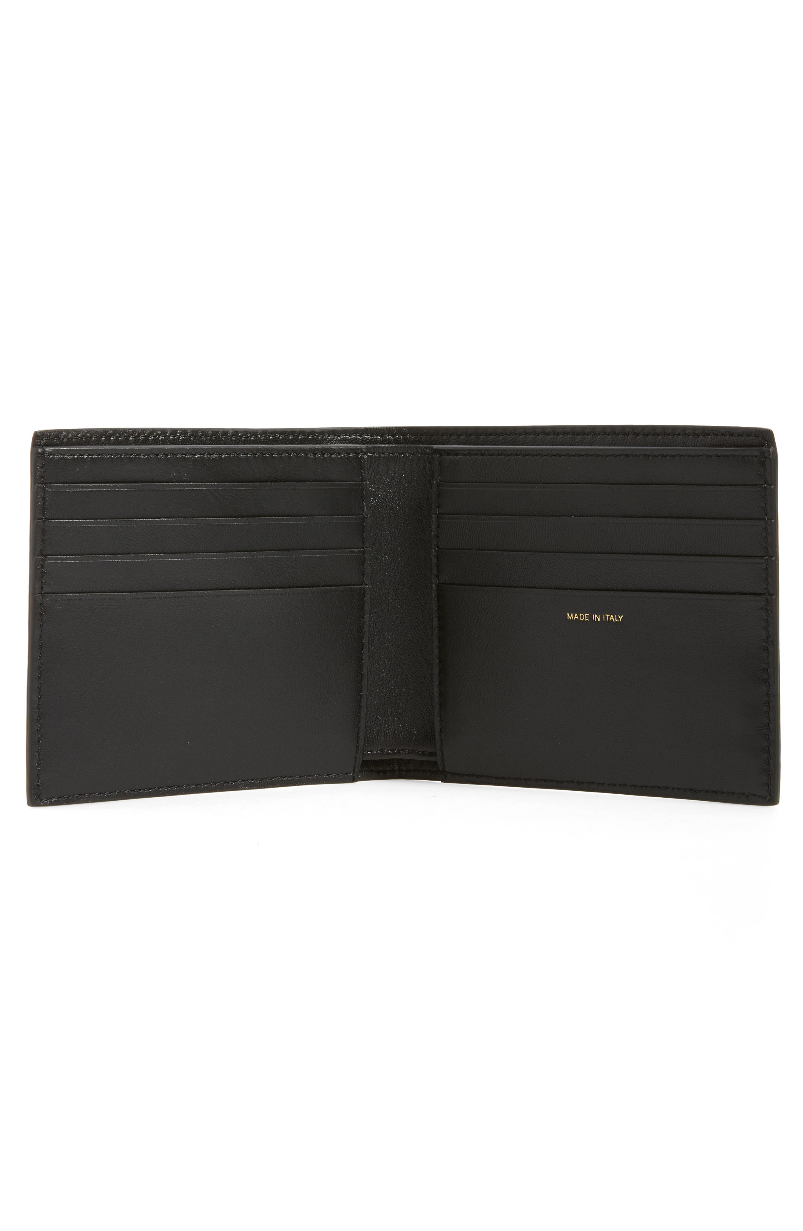 Metallic Leather Wallet,                             Alternate thumbnail 2, color,                             710