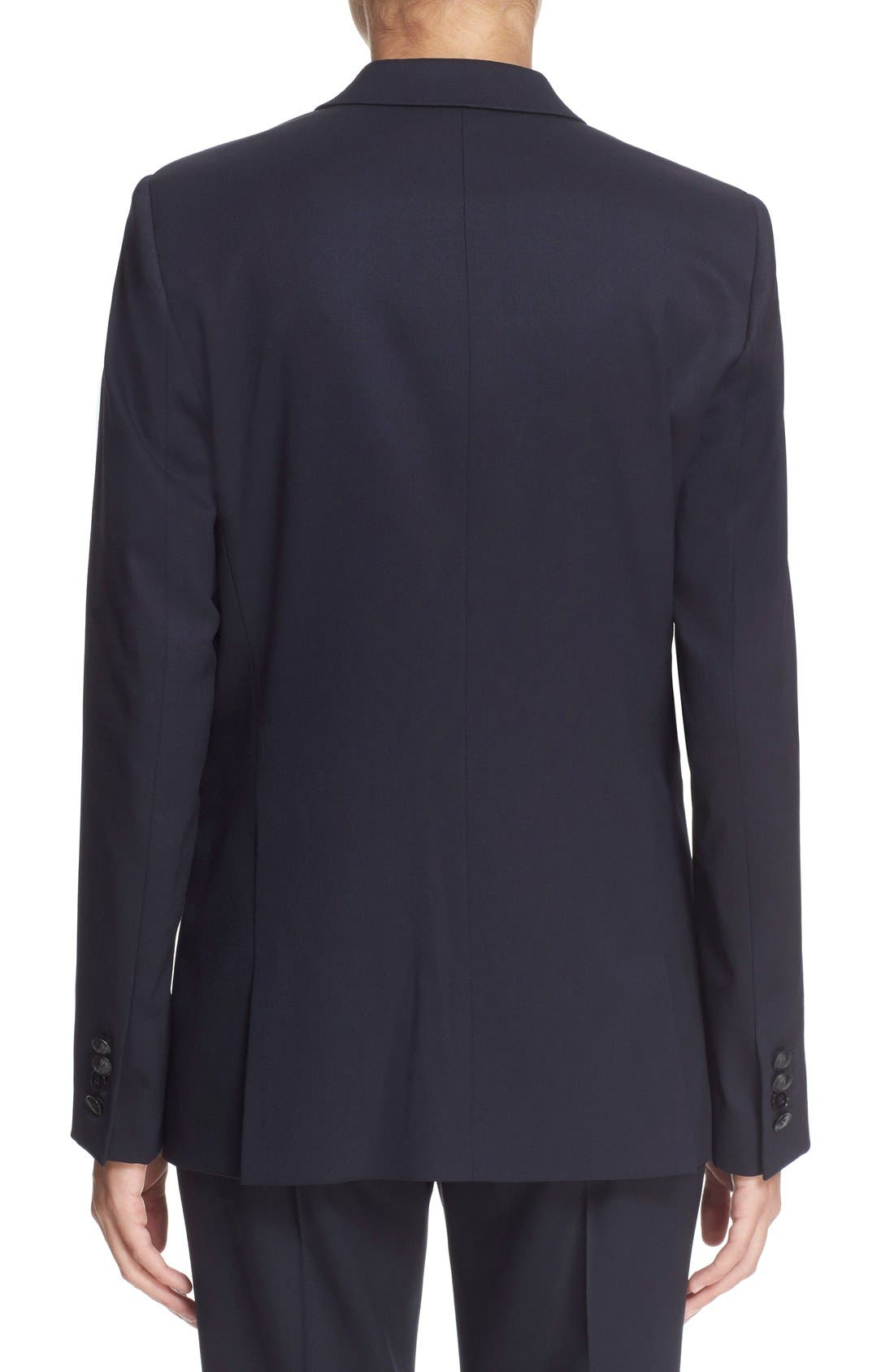 'Timeless' Stretch Wool Jacket,                             Alternate thumbnail 3, color,                             400