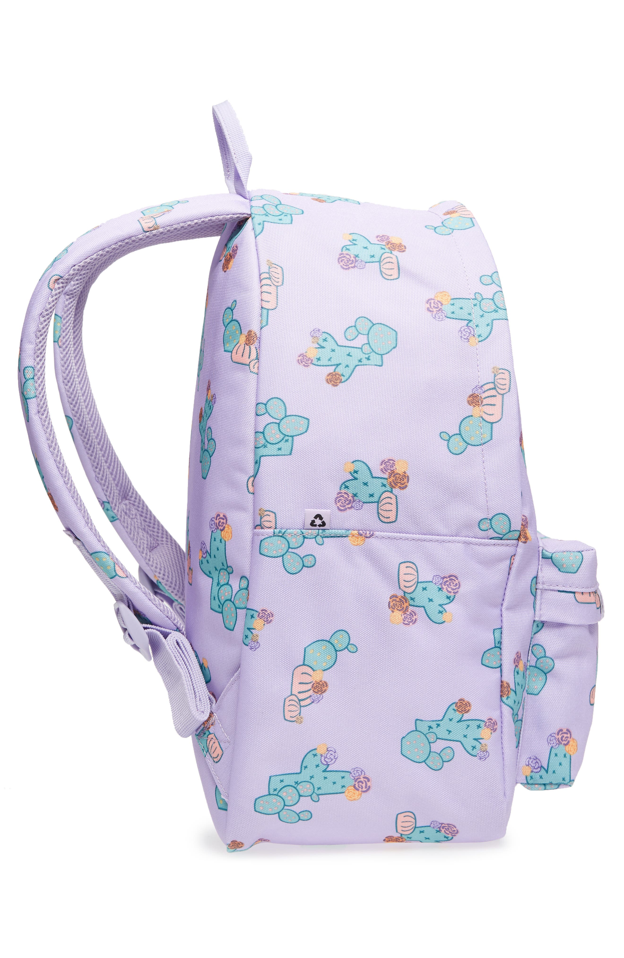 Bayside Cactus Flower Backpack,                             Alternate thumbnail 4, color,                             533
