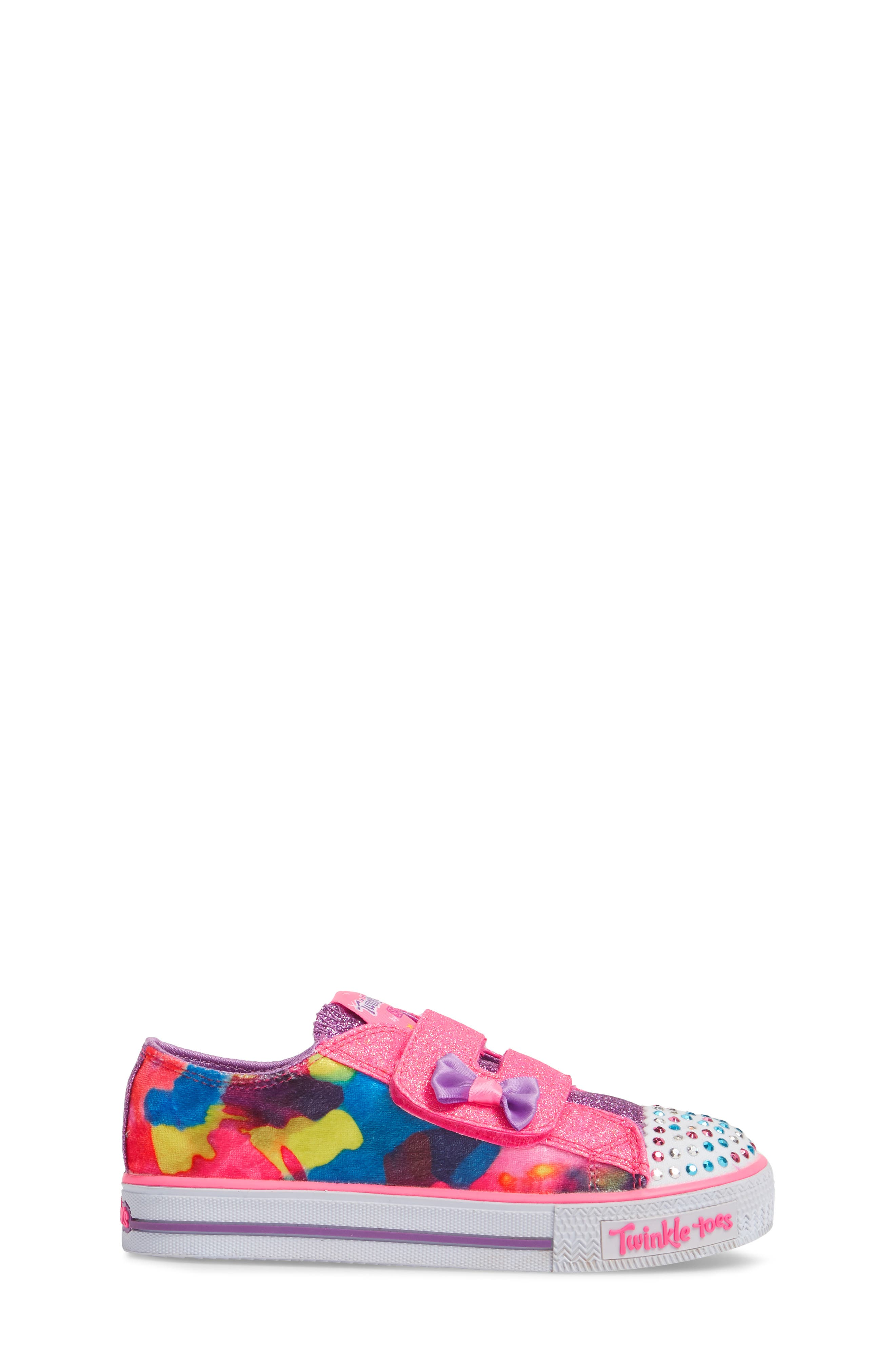Shuffles - Itsy Bitsy Light-Up Sneaker,                             Alternate thumbnail 13, color,
