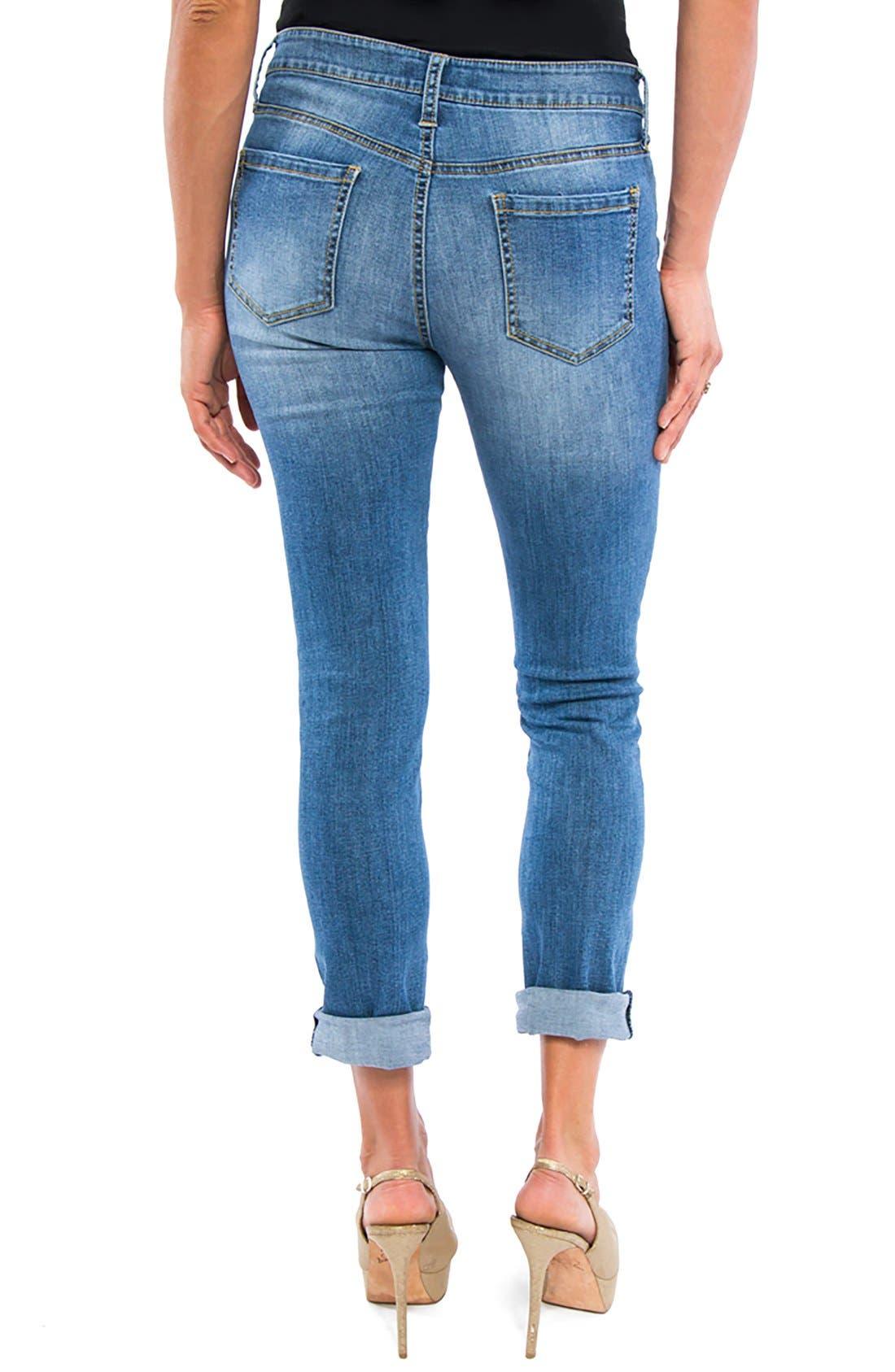 Peyton Slim Boyfriend Jeans,                             Alternate thumbnail 5, color,