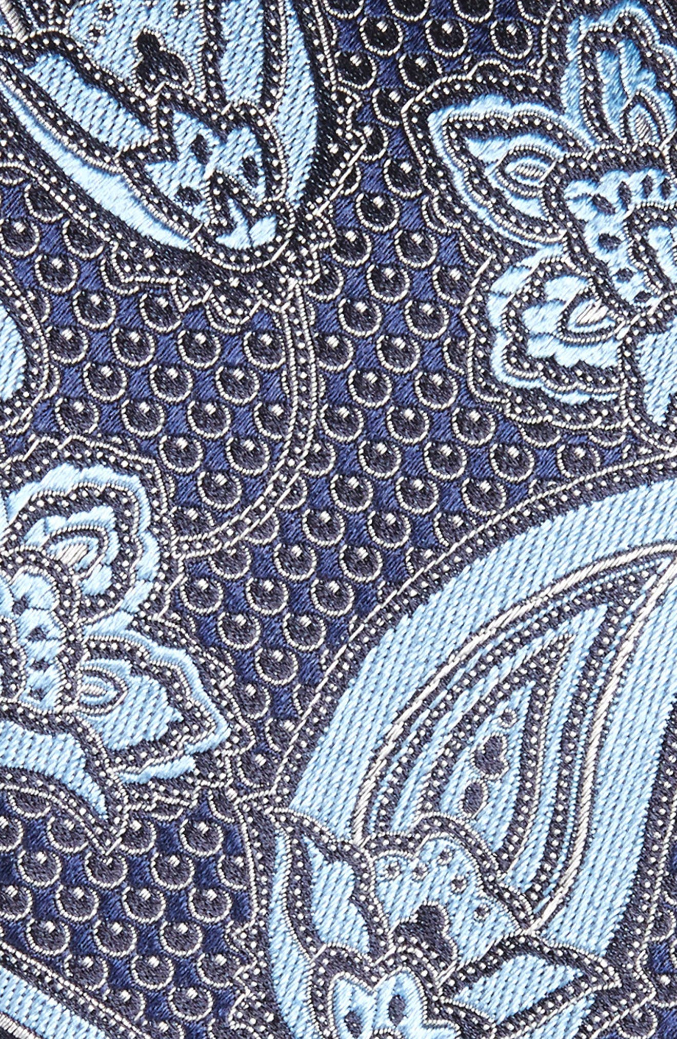 Paisley Silk Tie,                             Alternate thumbnail 4, color,