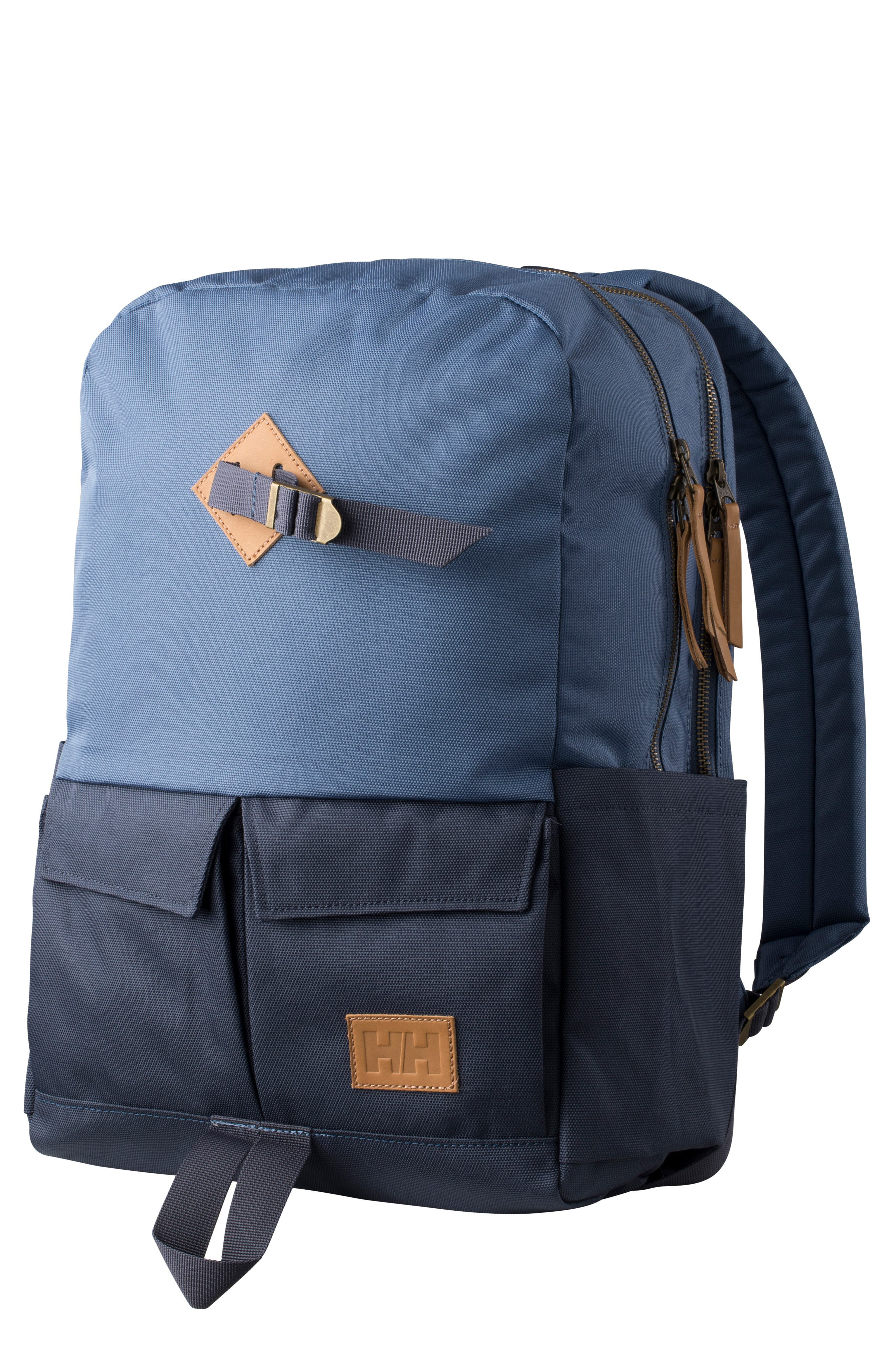 Bergen Backpack,                             Main thumbnail 1, color,                             GRAPHITE BLUE
