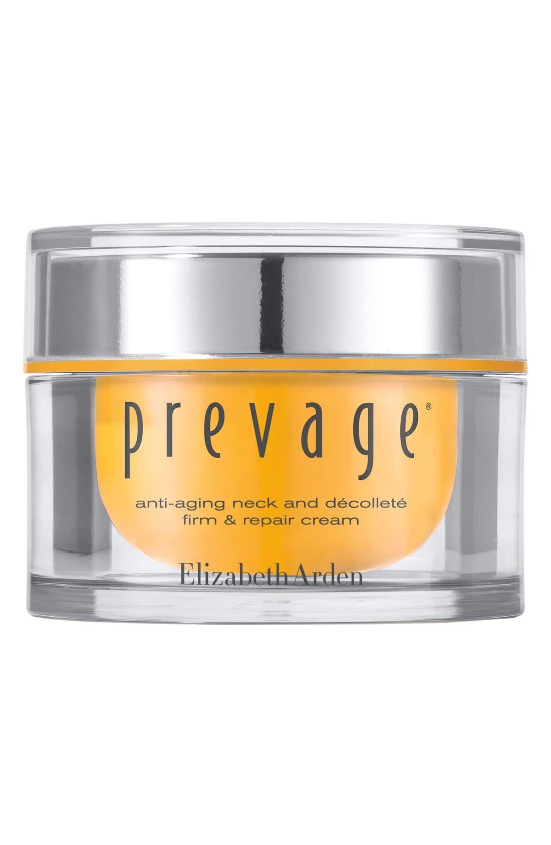 PREVAGE<sup>®</sup> Anti-Aging Neck & Décolleté Firm & Repair Cream,                         Main,                         color, NO COLOR