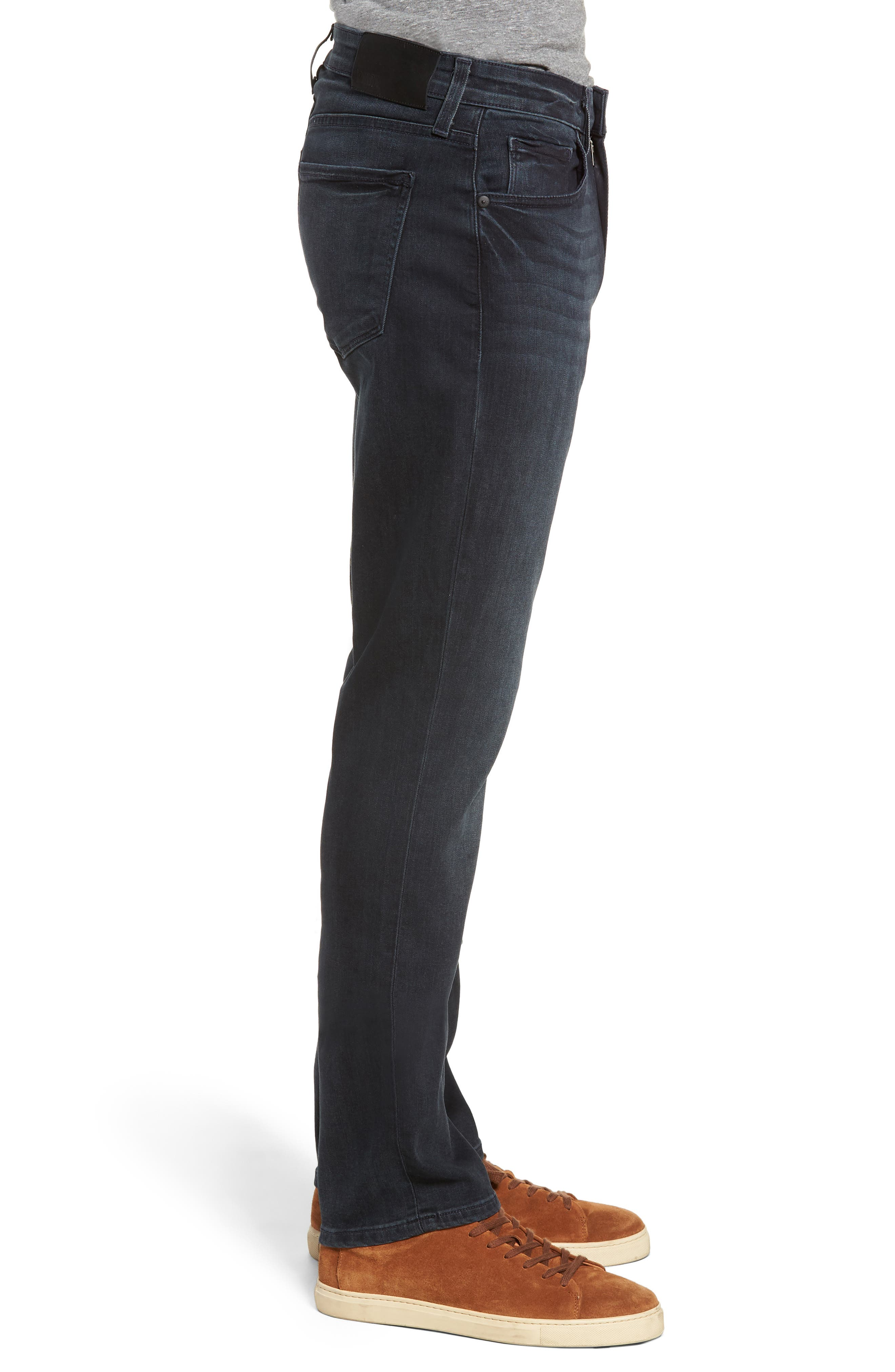 Transcend - Federal Slim Fit Straight Leg Jeans,                             Alternate thumbnail 3, color,                             BECKETT