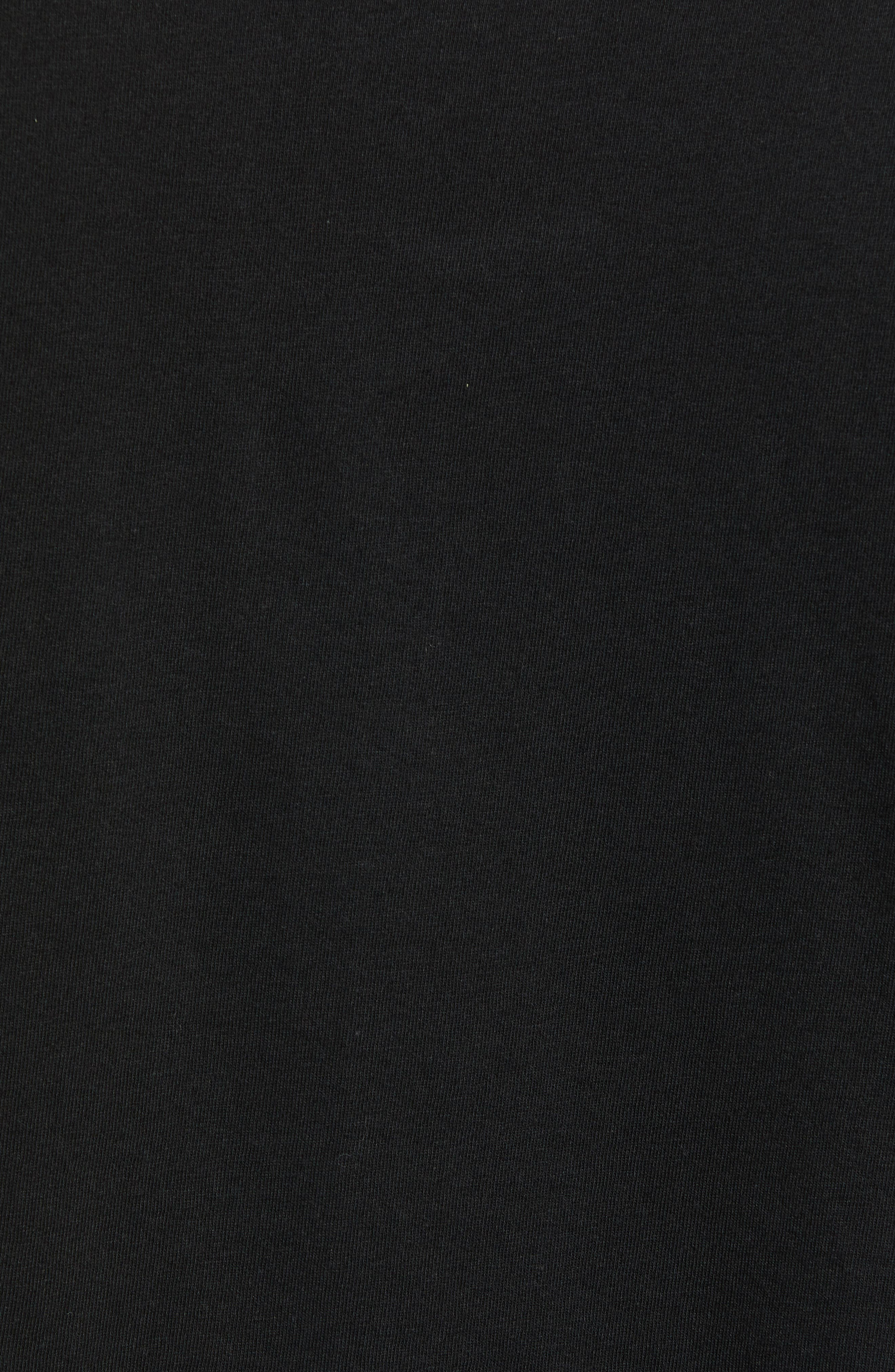 Visual Fidelity Premium T-Shirt,                             Alternate thumbnail 5, color,                             BLACK