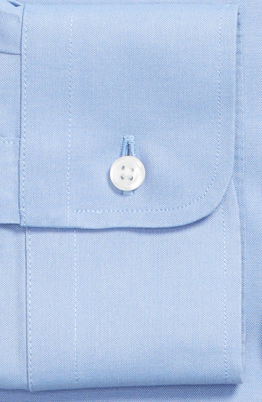 Smartcare<sup>™</sup> Traditional Fit Pinpoint Dress Shirt,                             Alternate thumbnail 59, color,