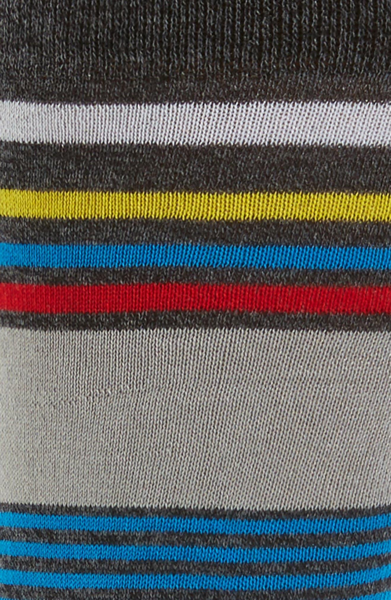 Stripe Socks,                             Alternate thumbnail 2, color,                             020