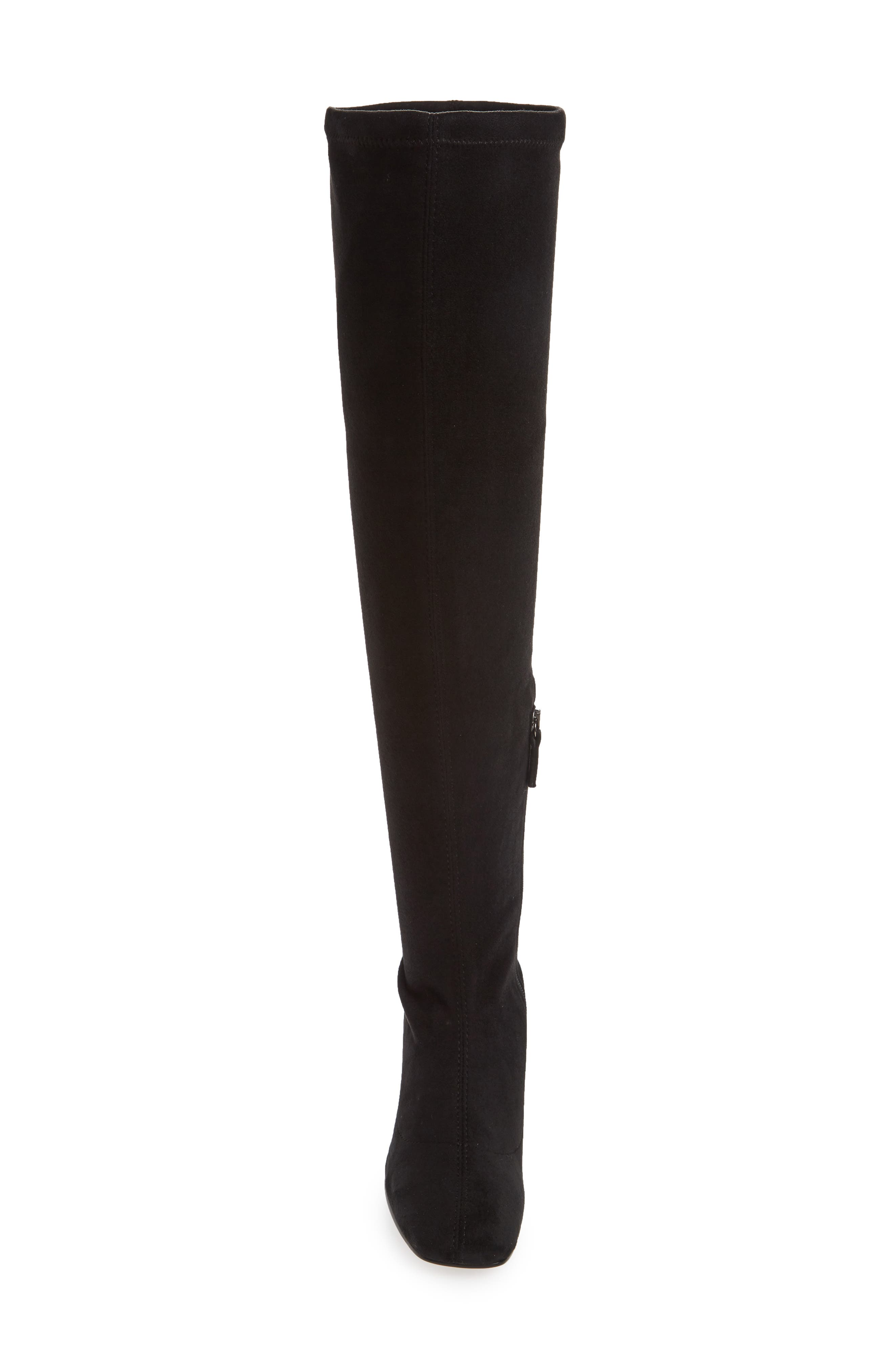 Cappuccino Over the Knee Boot,                             Alternate thumbnail 4, color,                             001