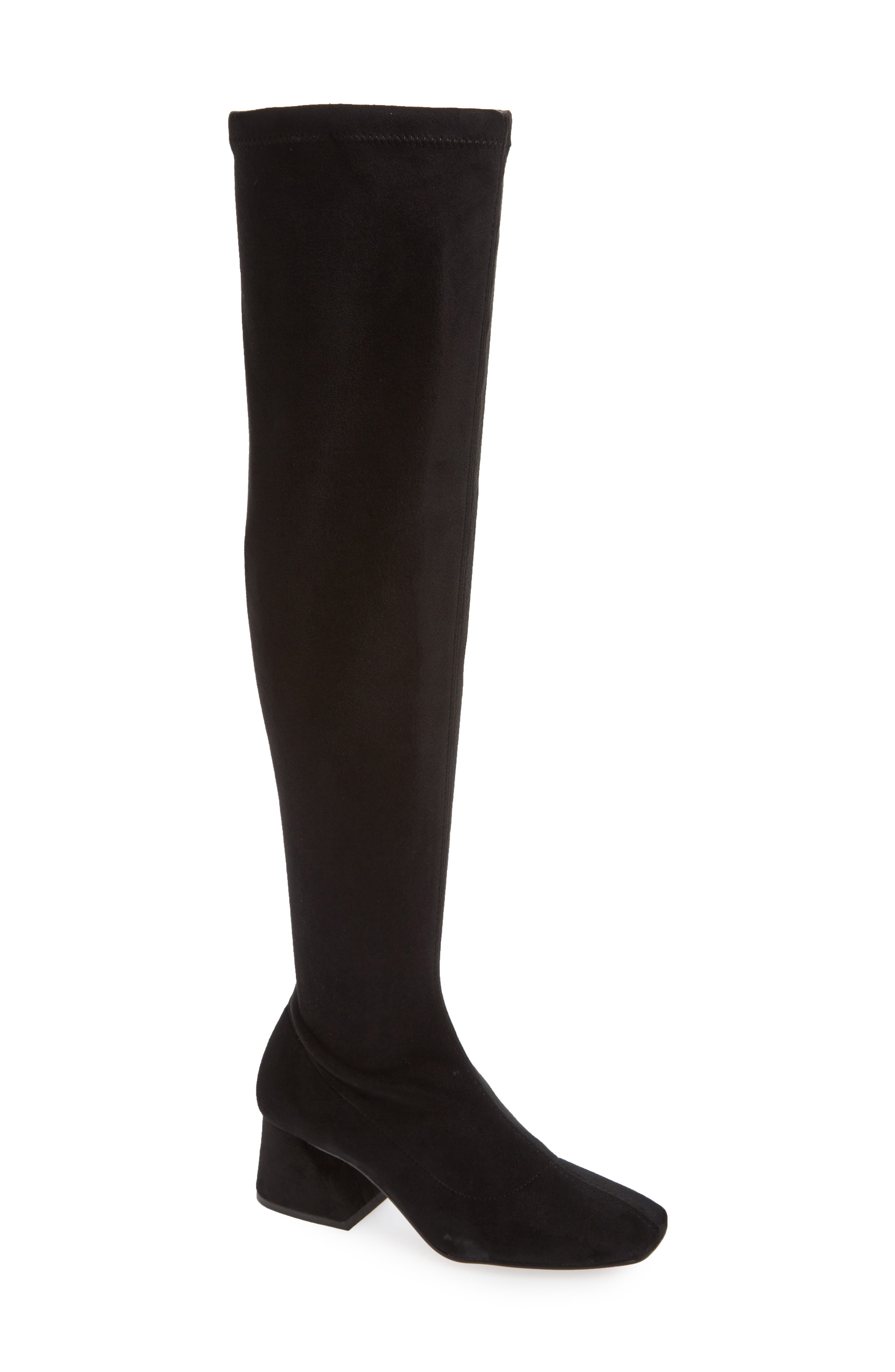 Cappuccino Over the Knee Boot,                             Main thumbnail 1, color,                             001