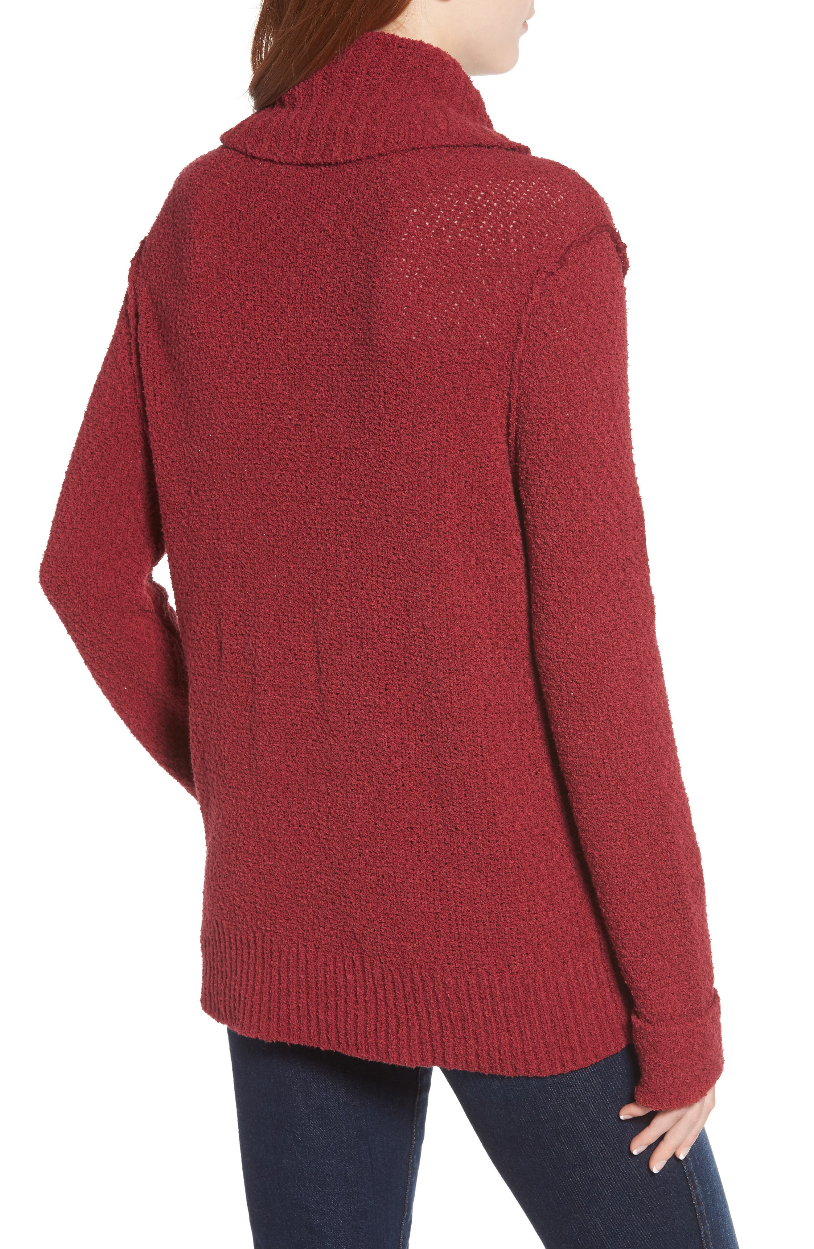 CASLON<SUP>®</SUP>,                             Cuff Sleeve Sweater,                             Alternate thumbnail 2, color,                             601
