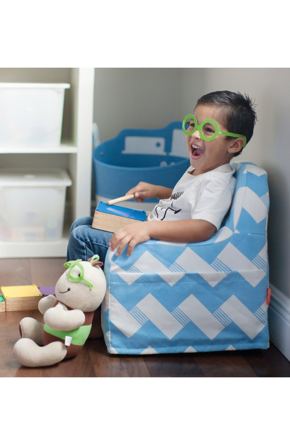 'Personalized Little Reader' Chair,                             Alternate thumbnail 14, color,