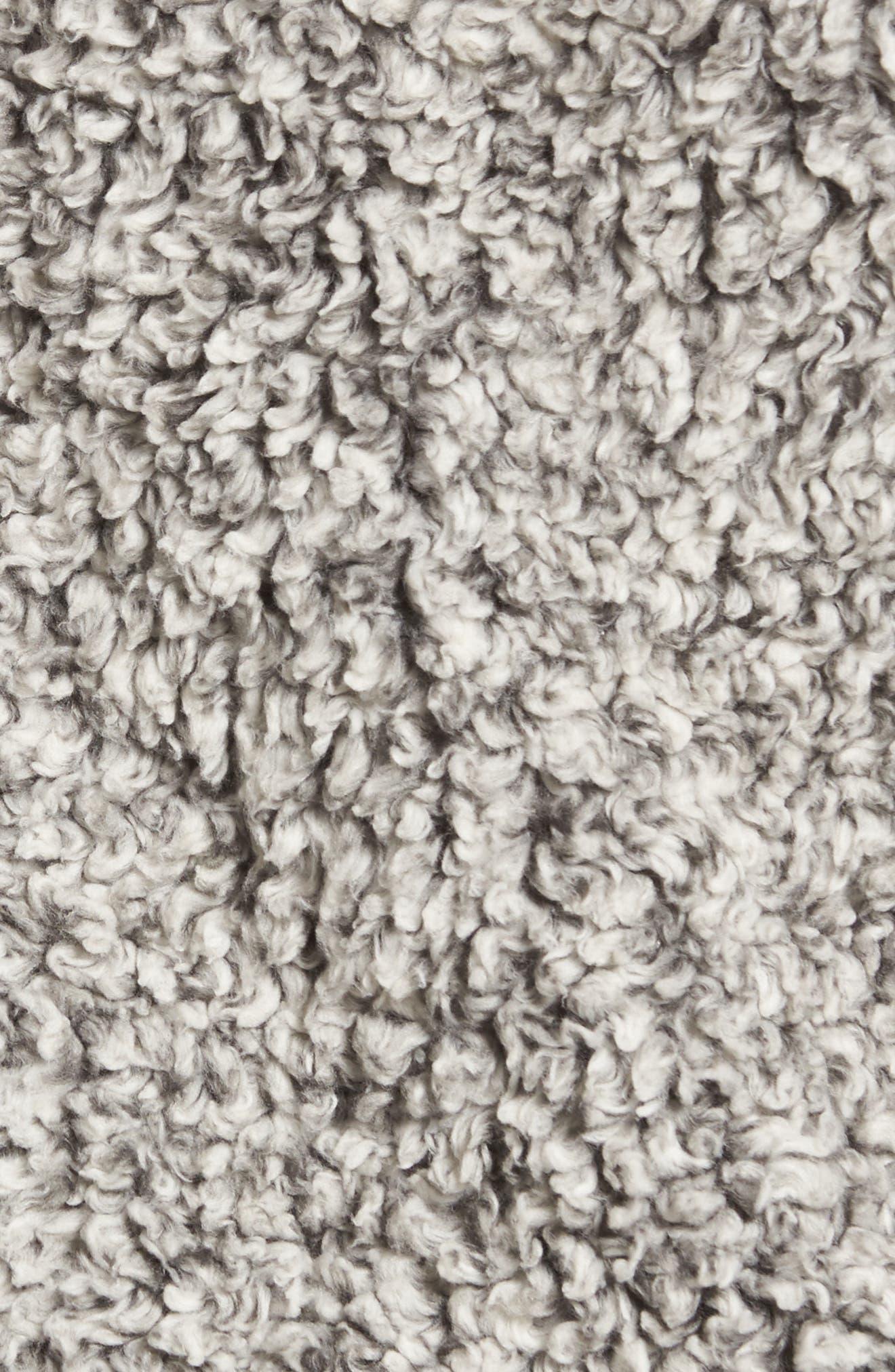 Double Up Frosty Tipped Faux Fur Vest,                             Alternate thumbnail 6, color,                             020