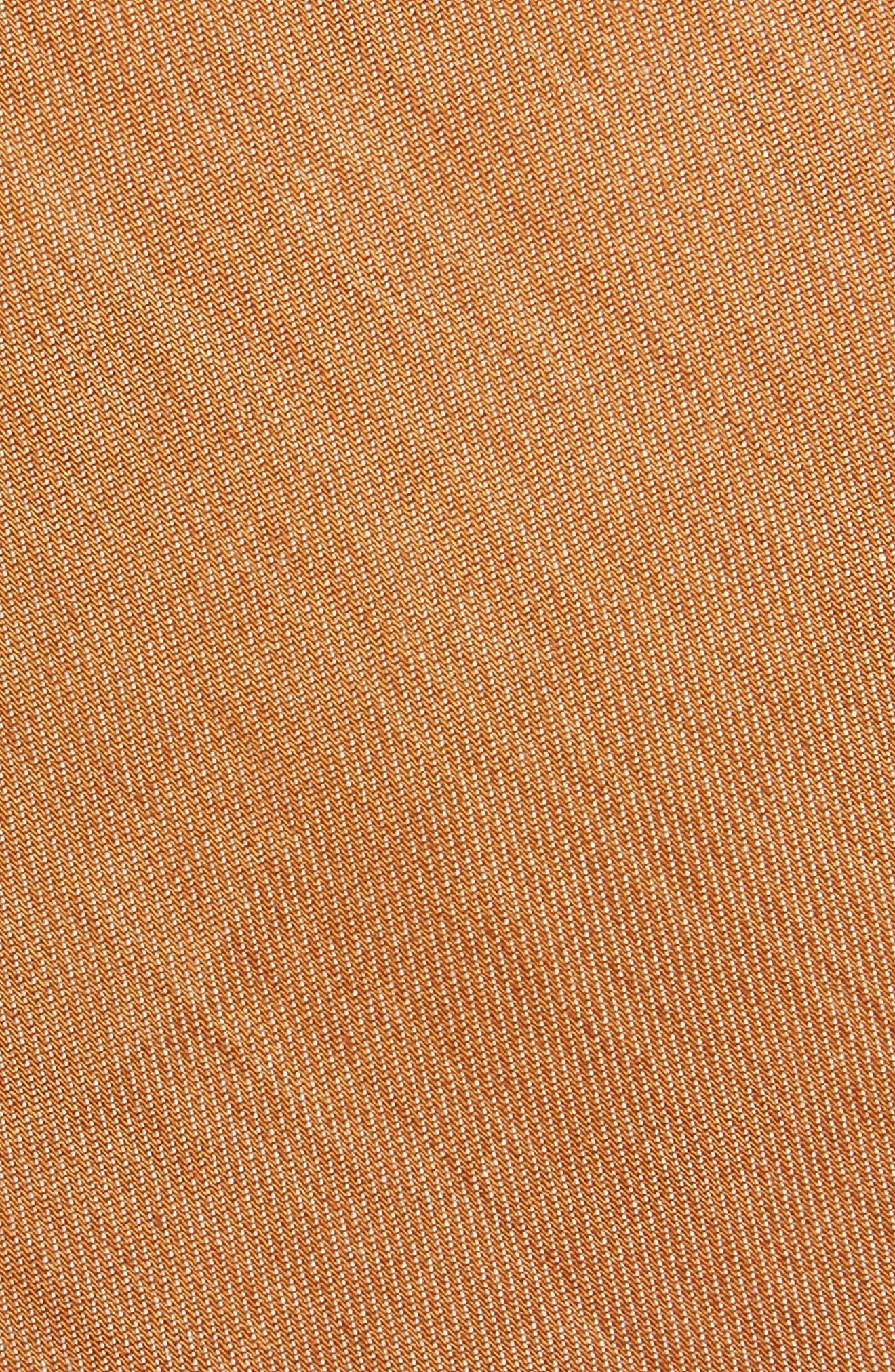 Abbey Solid Cotton Tie,                             Alternate thumbnail 2, color,                             220