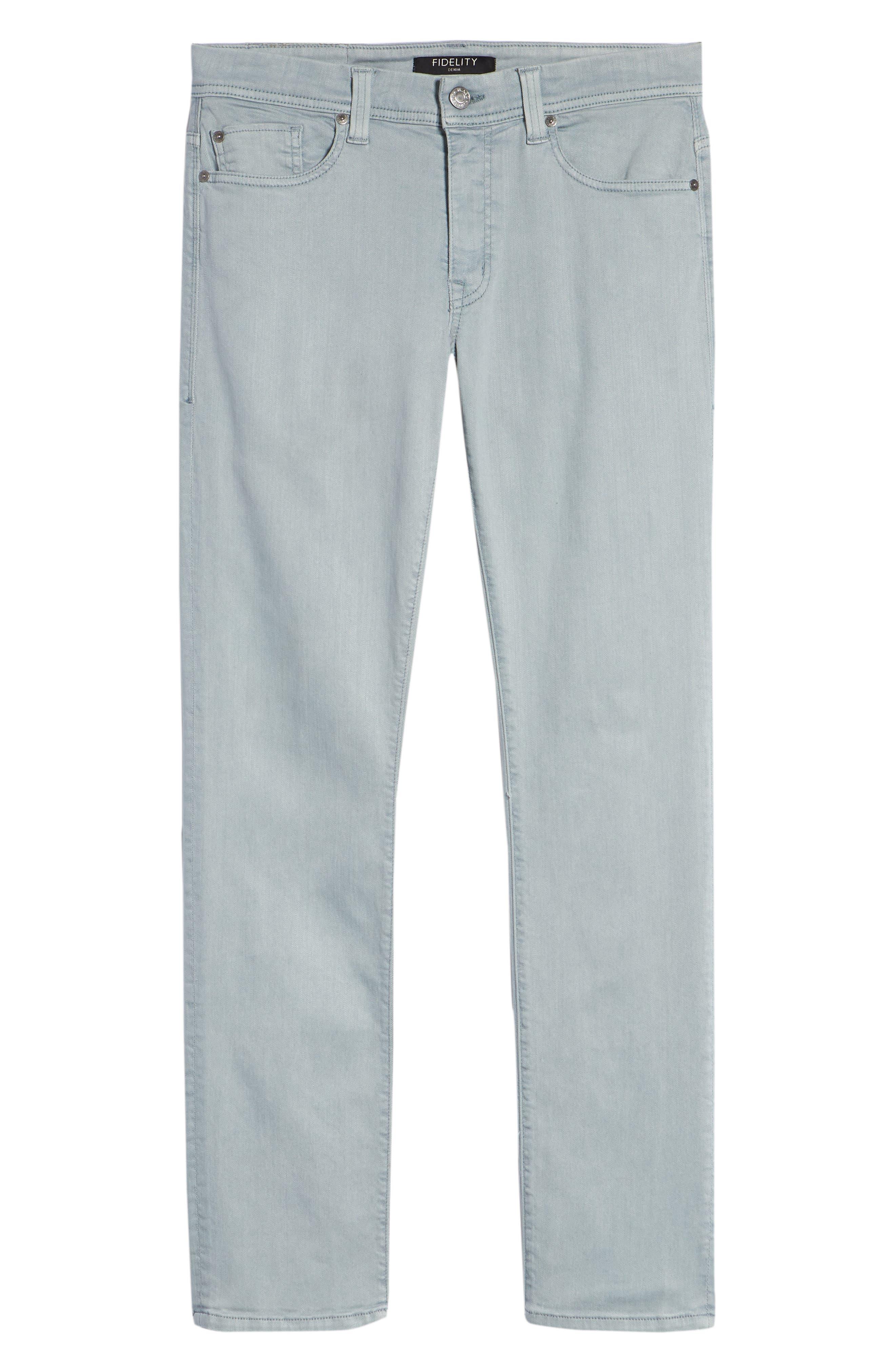 FIDELITY DENIM,                             Fidelity Jimmy Slim Straight Leg Jeans,                             Alternate thumbnail 6, color,                             020