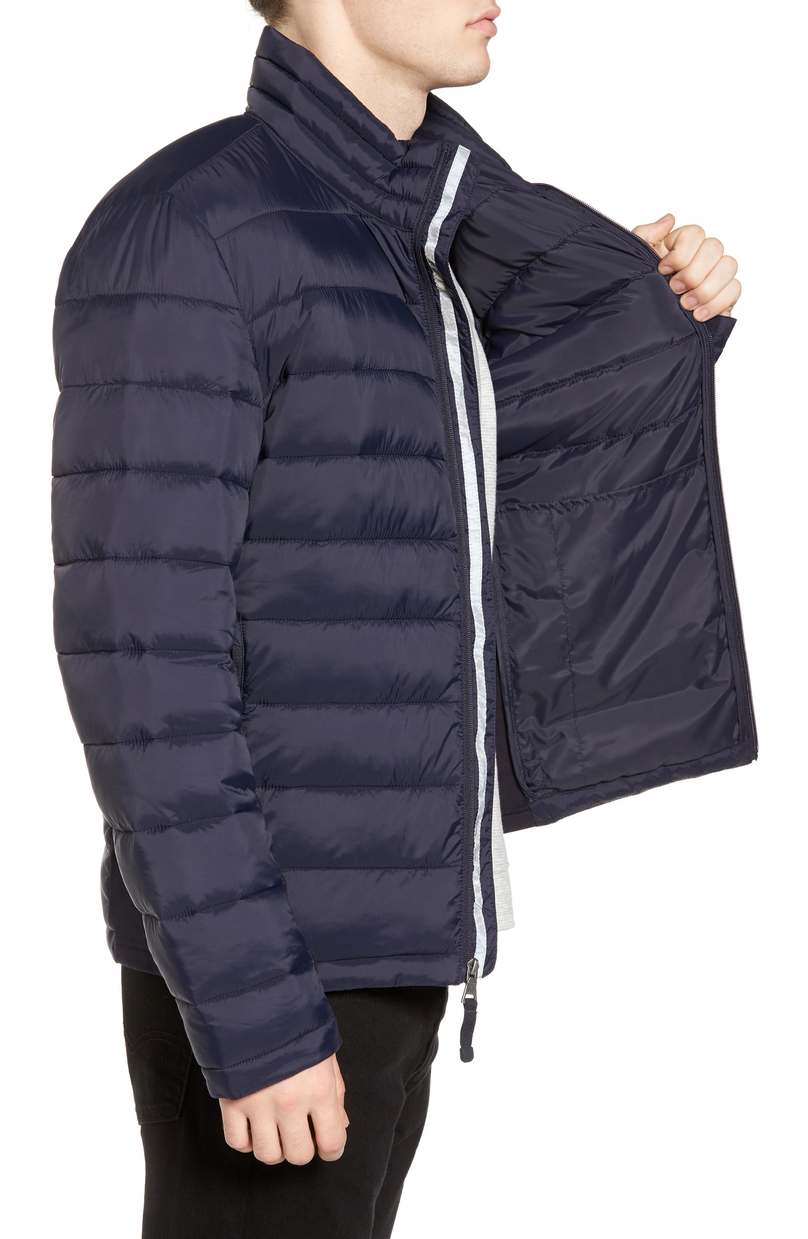 Water Resistant Packable Puffer Jacket,                             Alternate thumbnail 11, color,