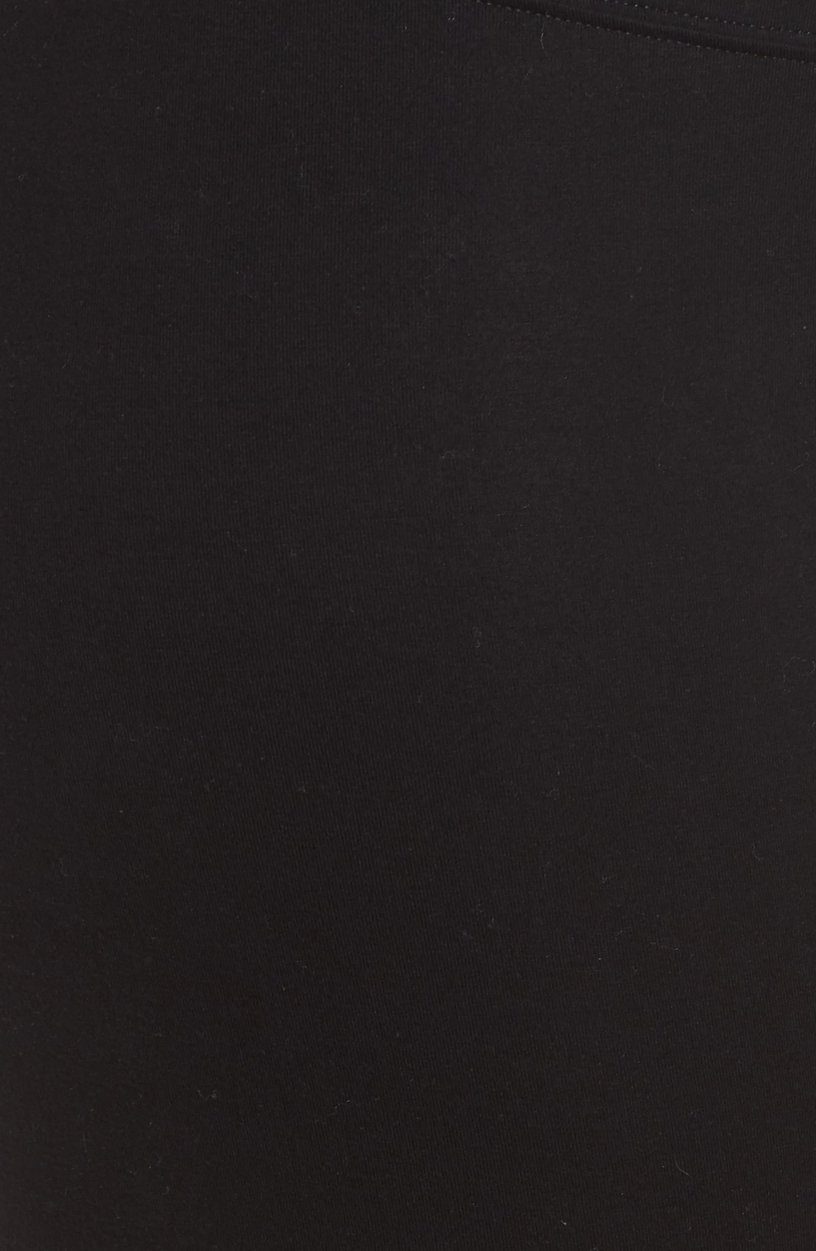 Go To Capri Leggings,                             Alternate thumbnail 5, color,                             BLACK