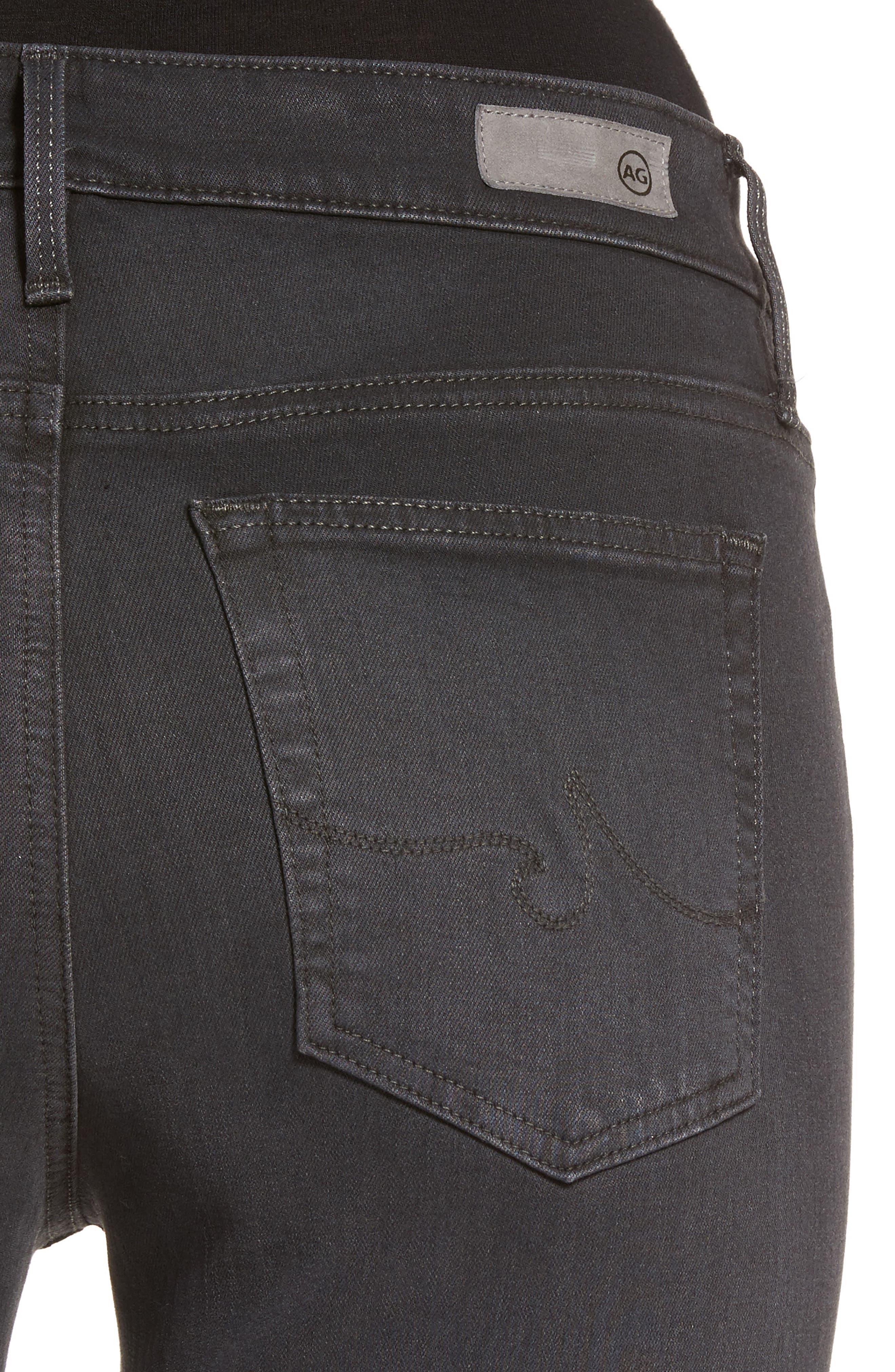 Farrah High Waist Ankle Skinny Jeans,                             Alternate thumbnail 9, color,