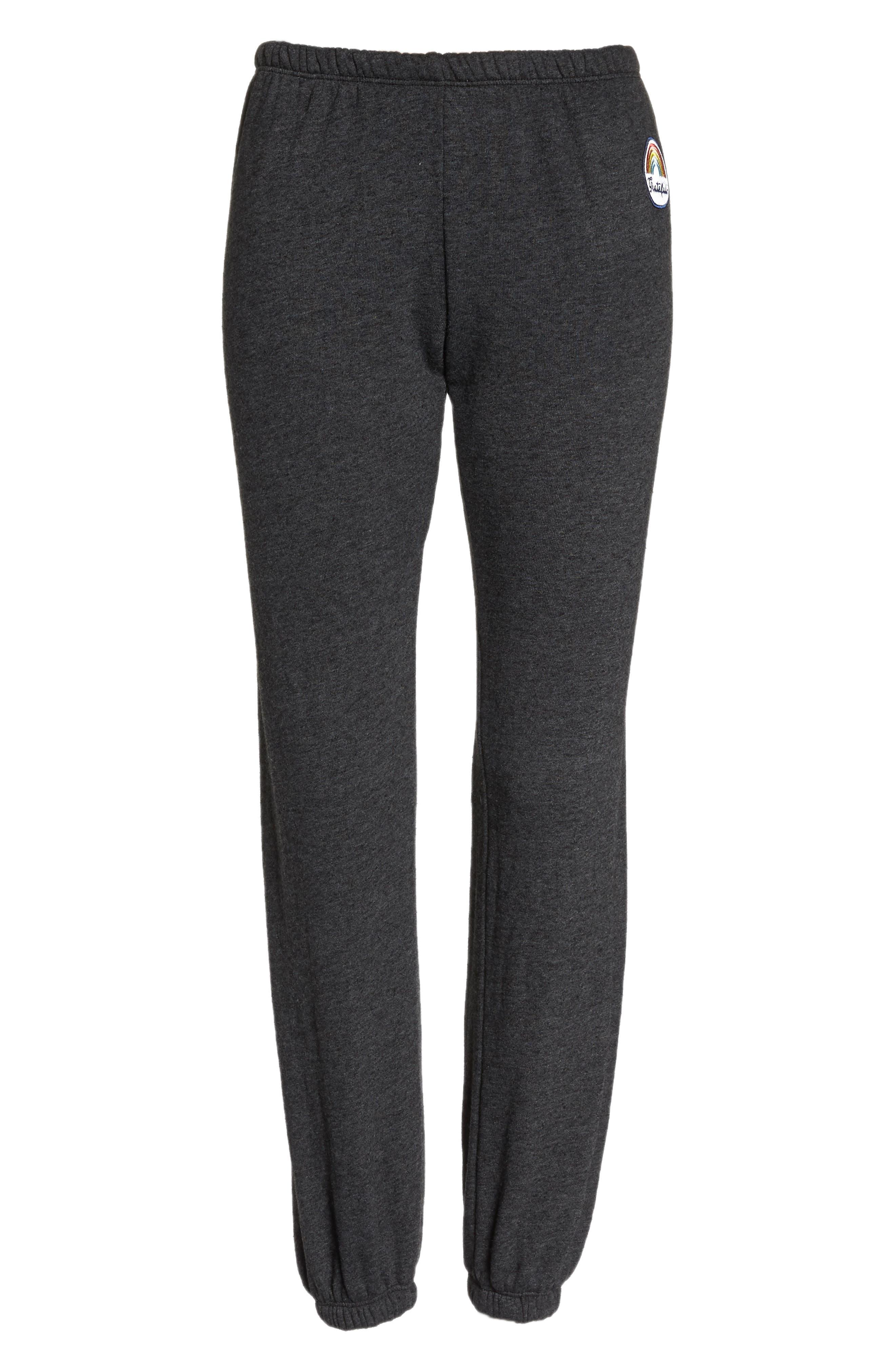 Grateful Perfect Knit Pants,                             Alternate thumbnail 7, color,                             009