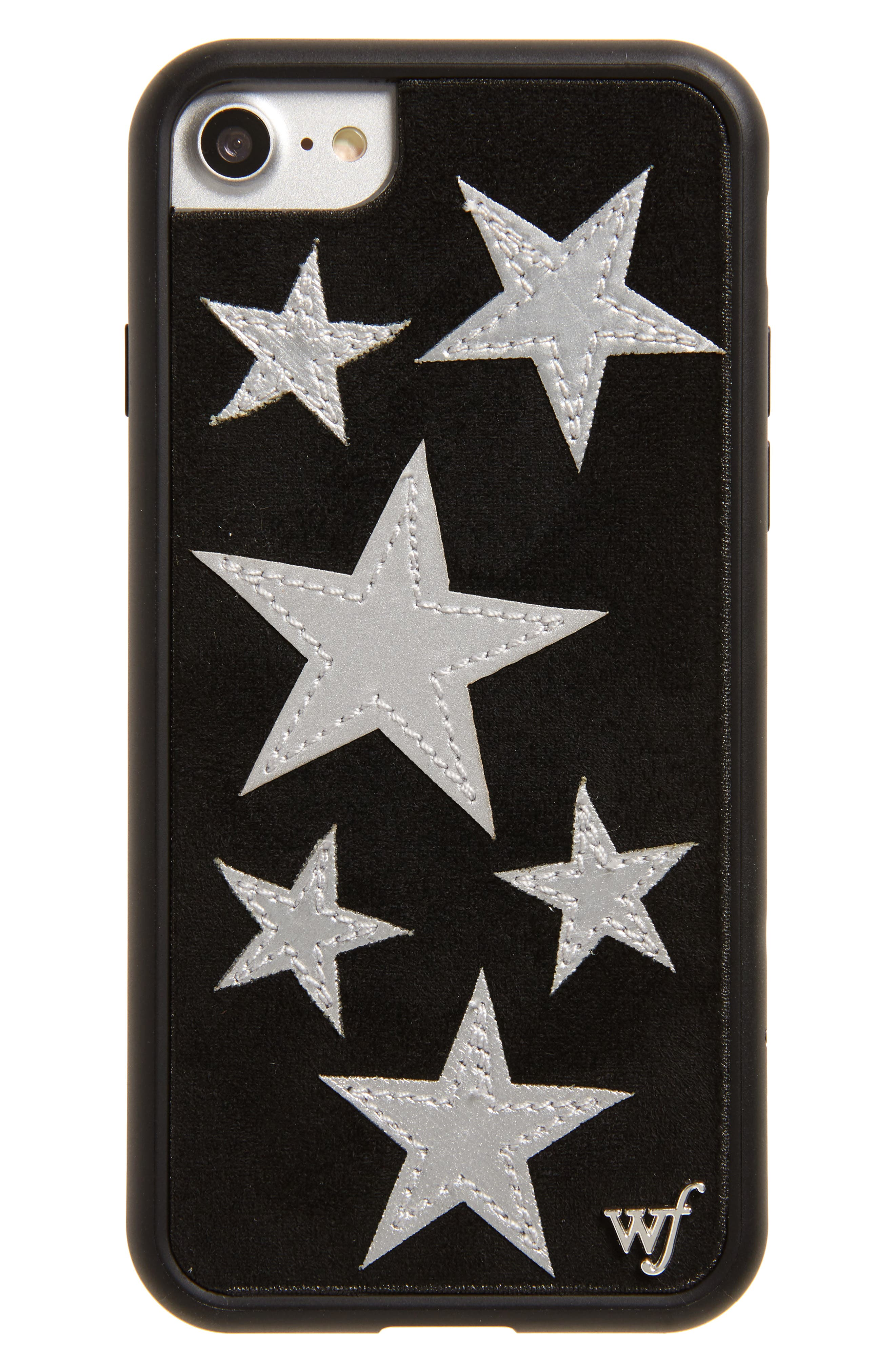 Velvet Star iPhone 7 Case,                         Main,                         color, 001