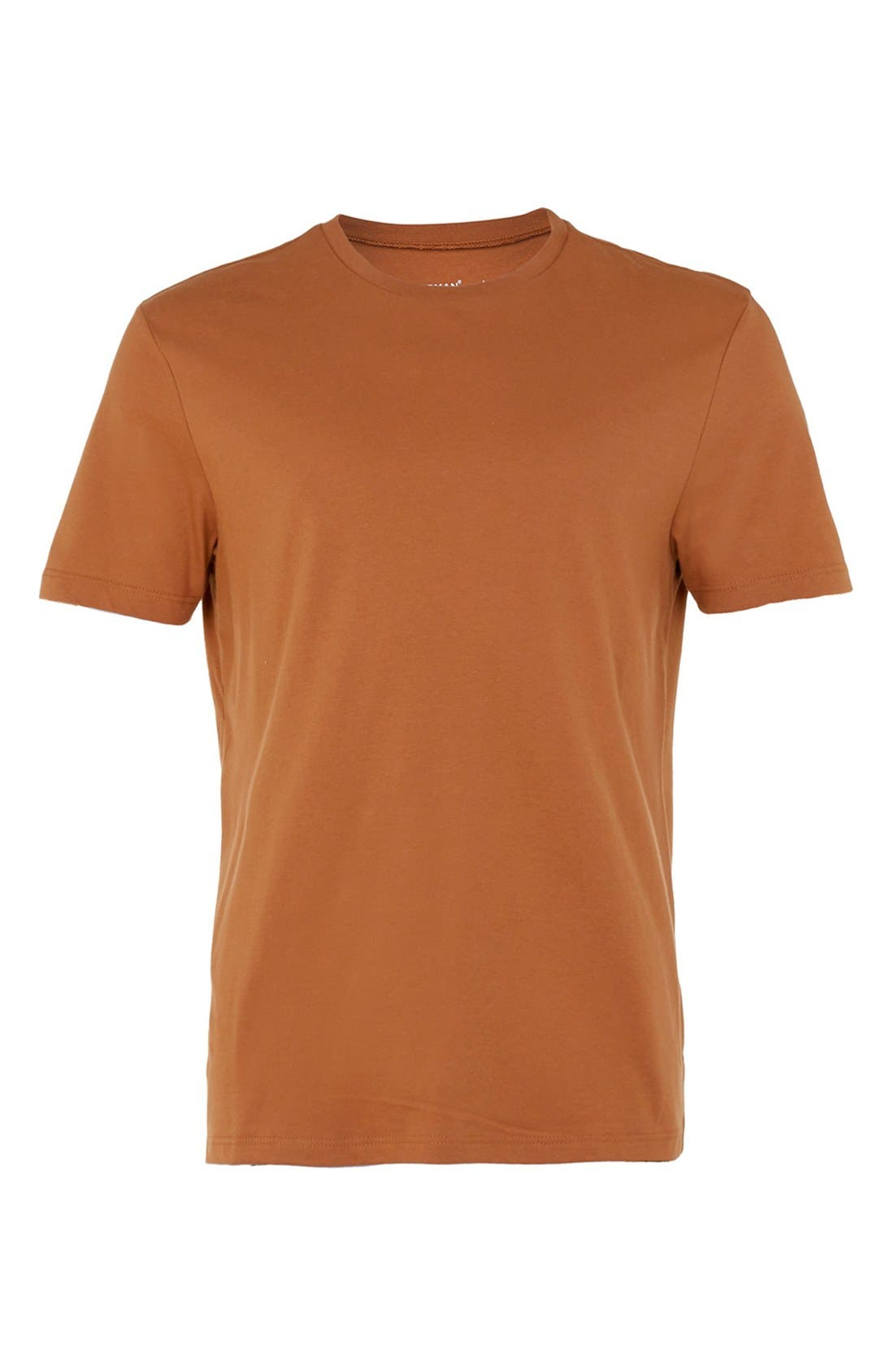Slim Fit Crewneck T-Shirt,                             Alternate thumbnail 137, color,