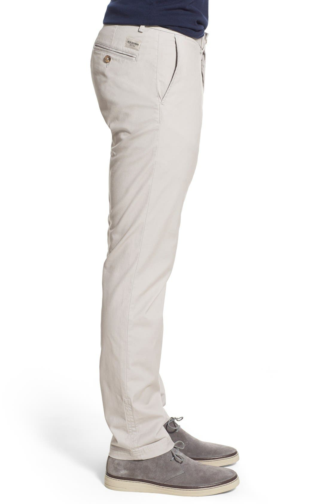 Slim Fit Stretch Chinos,                             Alternate thumbnail 28, color,