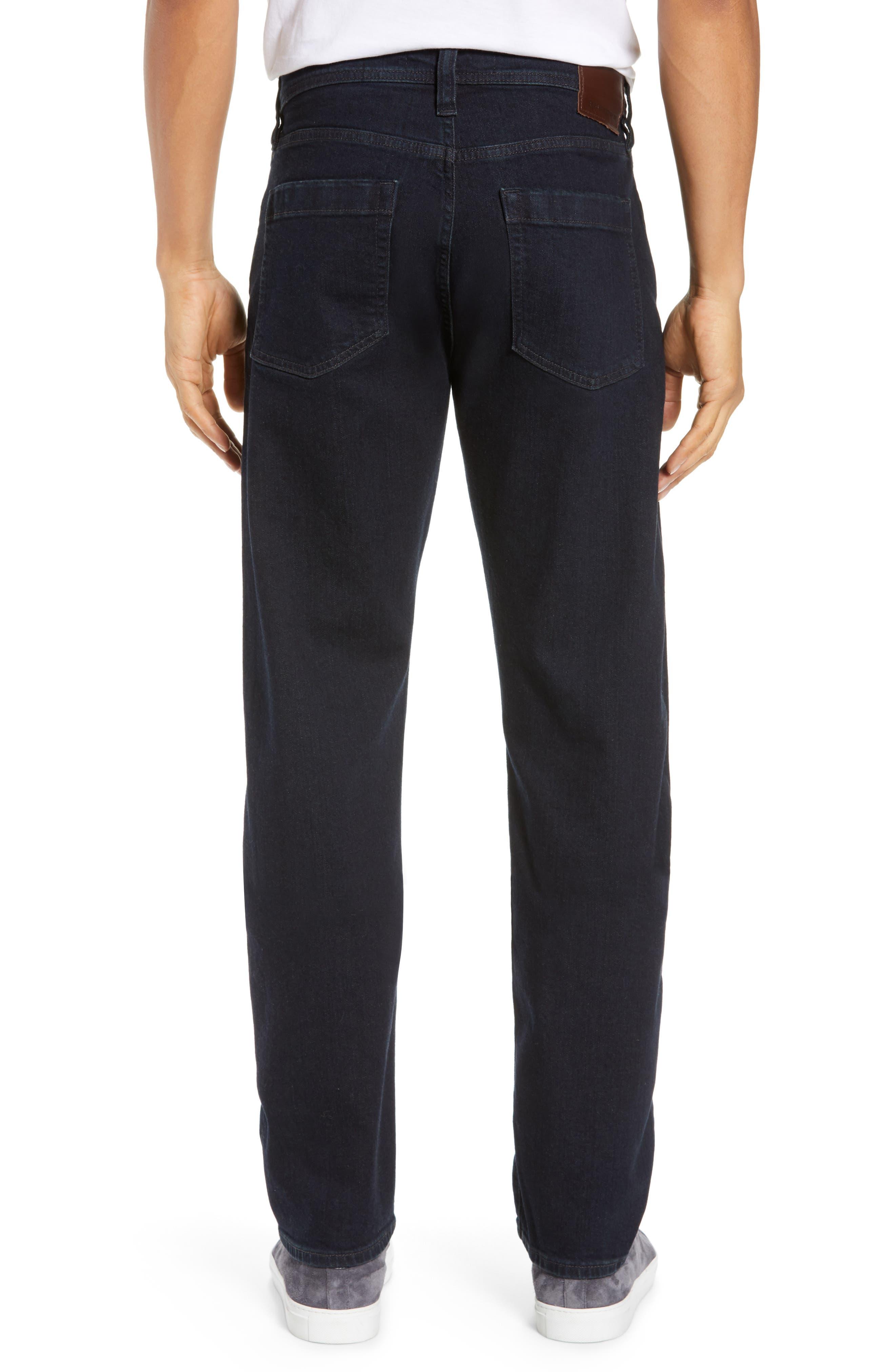 REVTOWN,                             Automatic Straight Leg Jeans,                             Alternate thumbnail 2, color,                             RINSE INDIGO