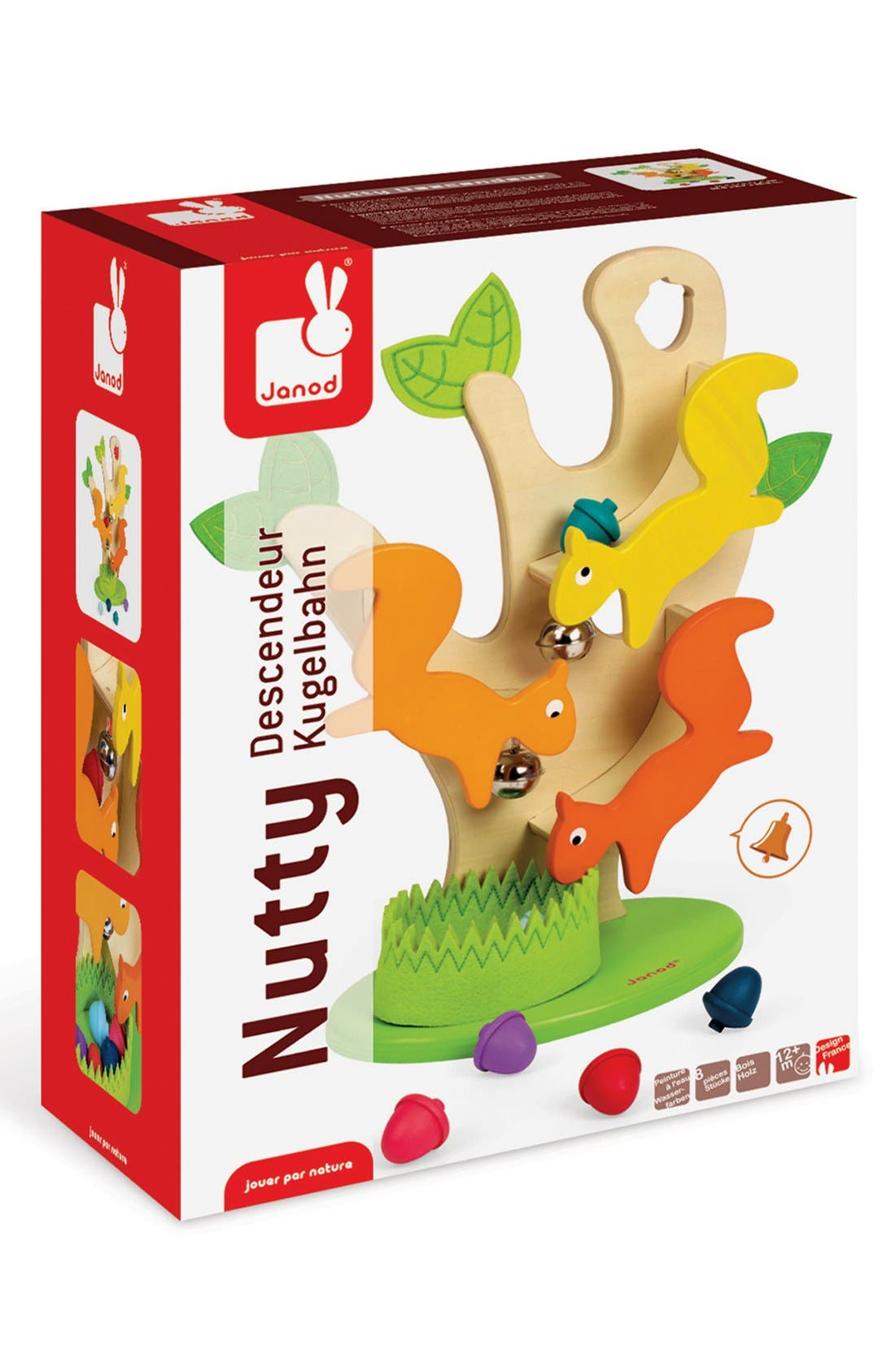 'Nutty Ball Track' Play Set,                             Main thumbnail 1, color,                             MULTI